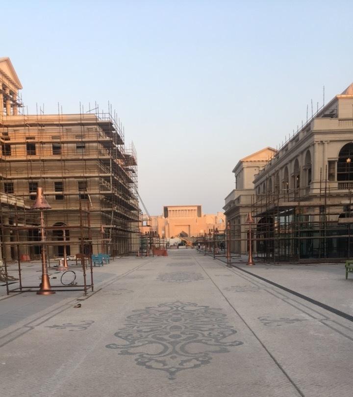 Katara Plaza site