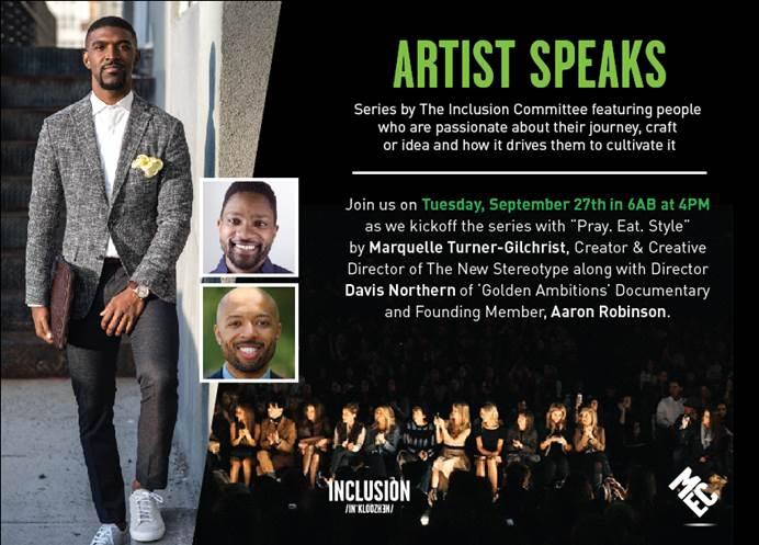 MEC Artist Speaks