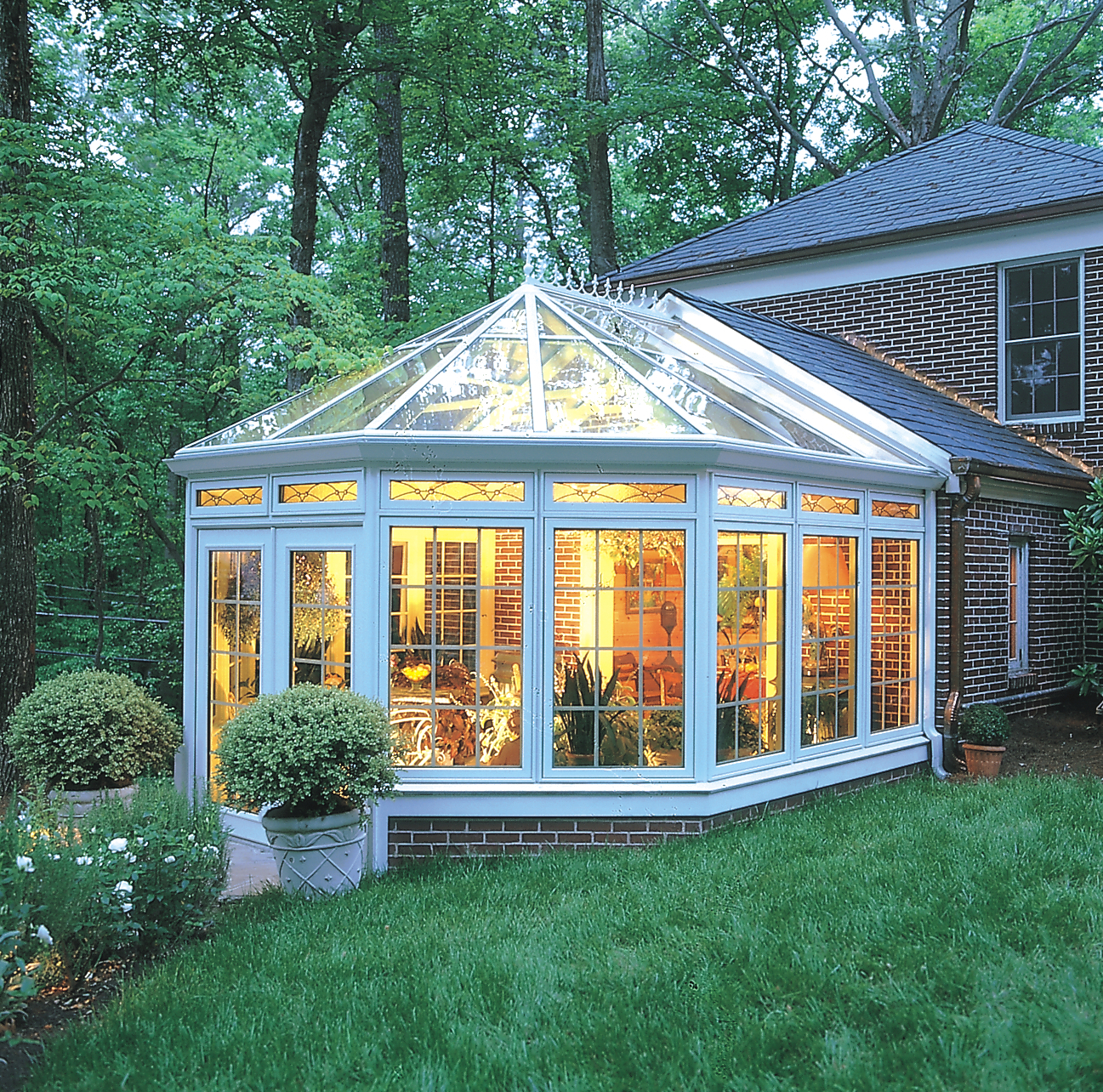 Victorian Conservatory With Wood Interior Photos