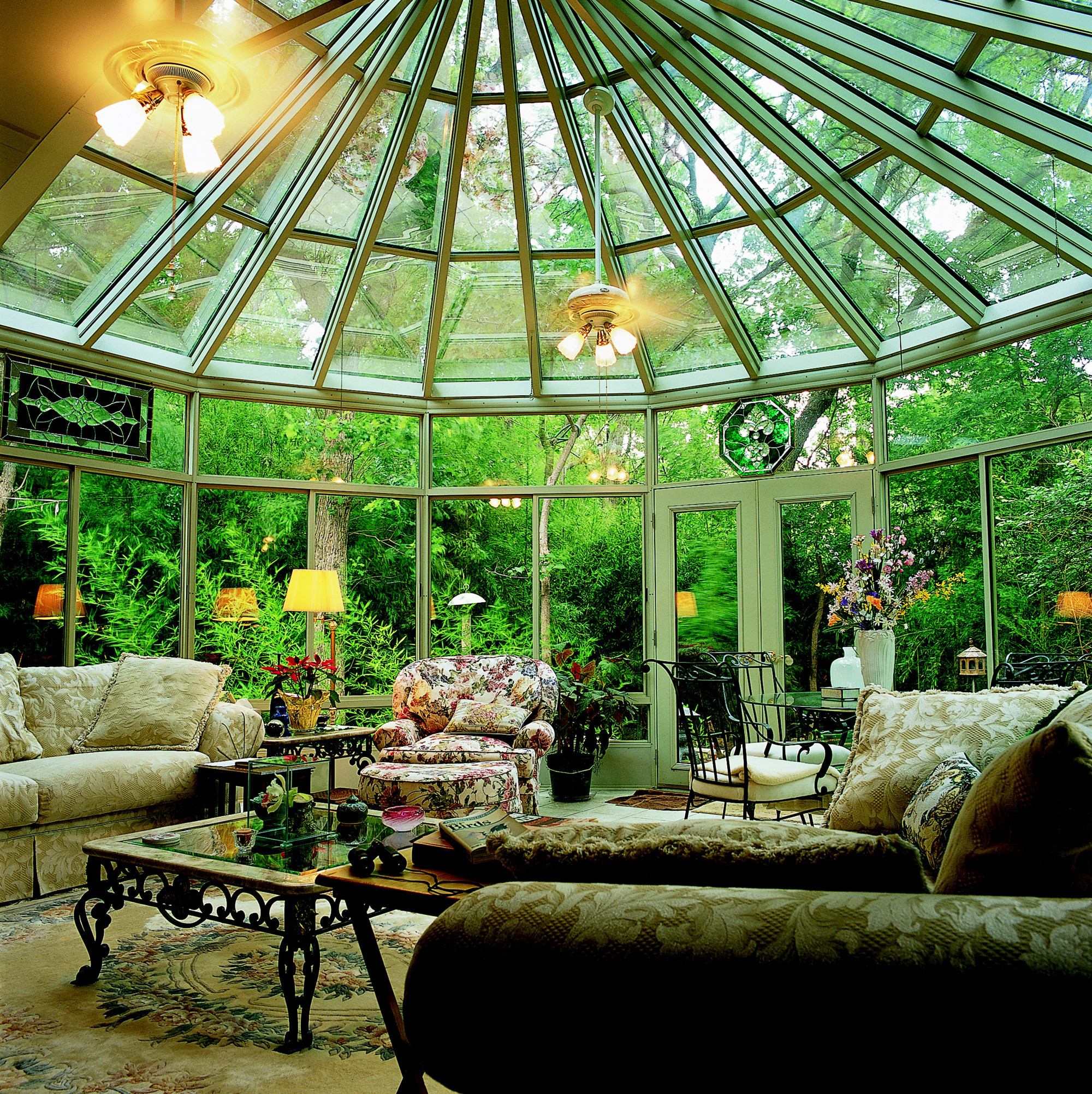 Victorian Conservatory With Aluminum Frame Photos