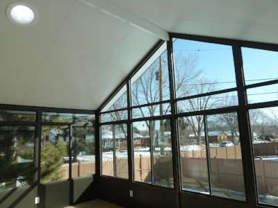 Solid Roof With Aluminum Frame Photos