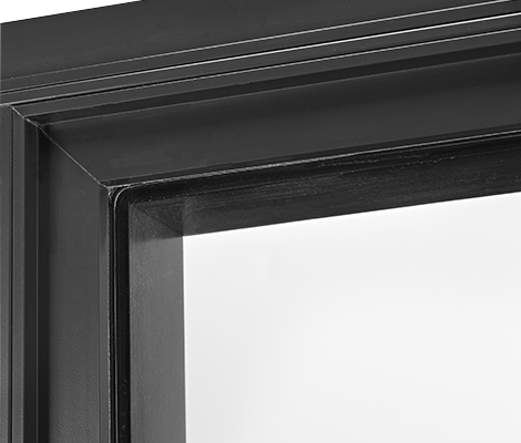 Accent - In Accent style VistaLuxe products, the sash is recessed from the frame to add depth and visual interest, while still keeping glass in the same plane across other Accent style VistaLuxe windows and doors.