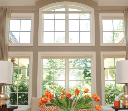 Casement Windows  opening on the side, casements offer daylight, fresh air, energy efficiency, versatility, and a vast array of options.  Crank-Out Push-Out Inswing