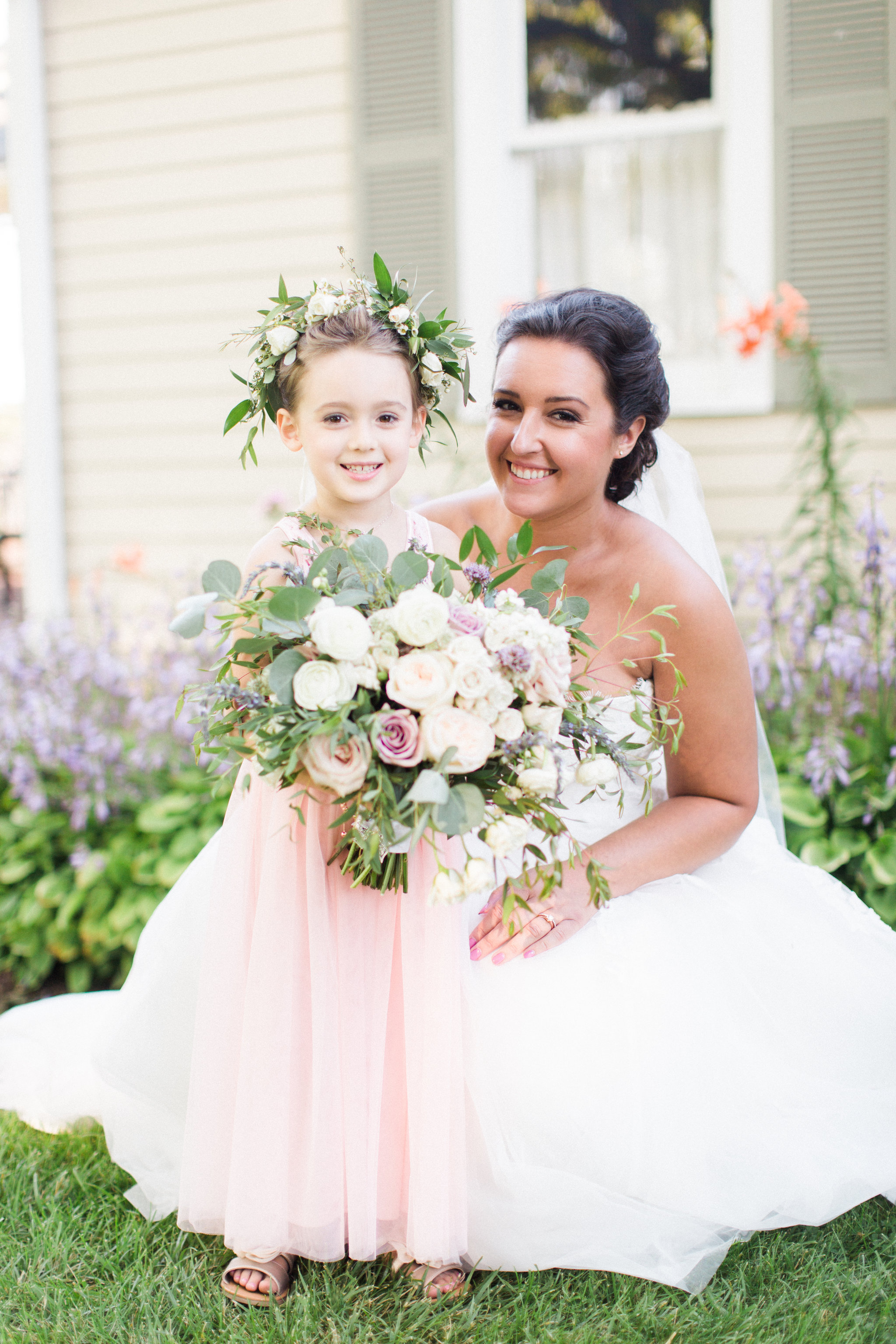 Flower Girl Crown Summer Wedding