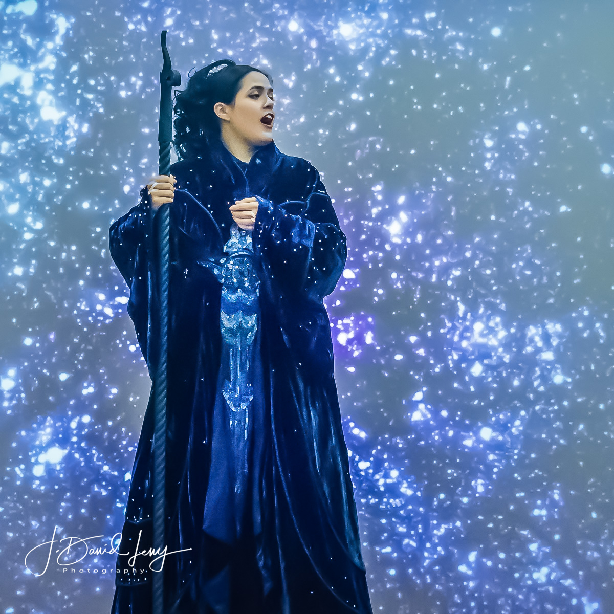 OTSL Opera on the GO! Magic Flute as Queen of the Night