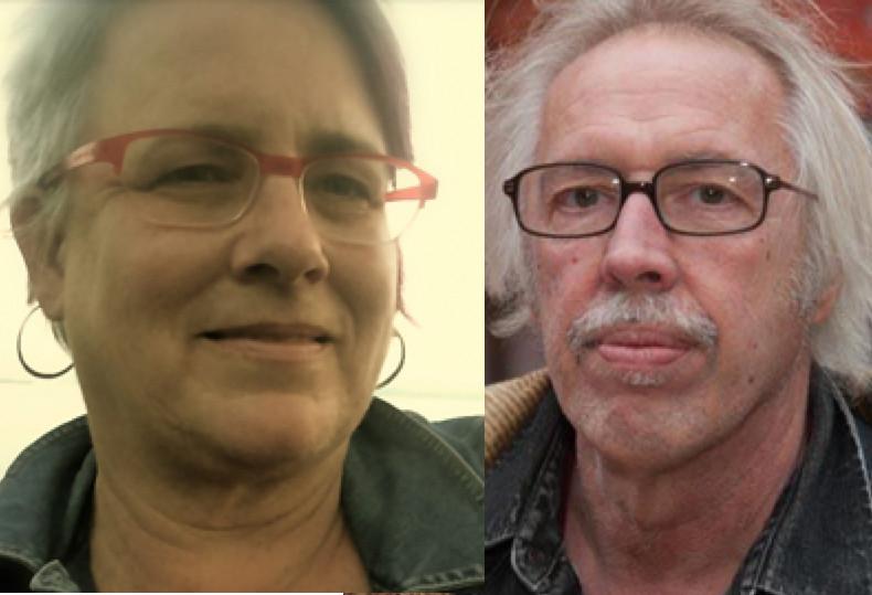 Directors of  Peace Has No Borders : Deb Ellis and Dennis Mueller.