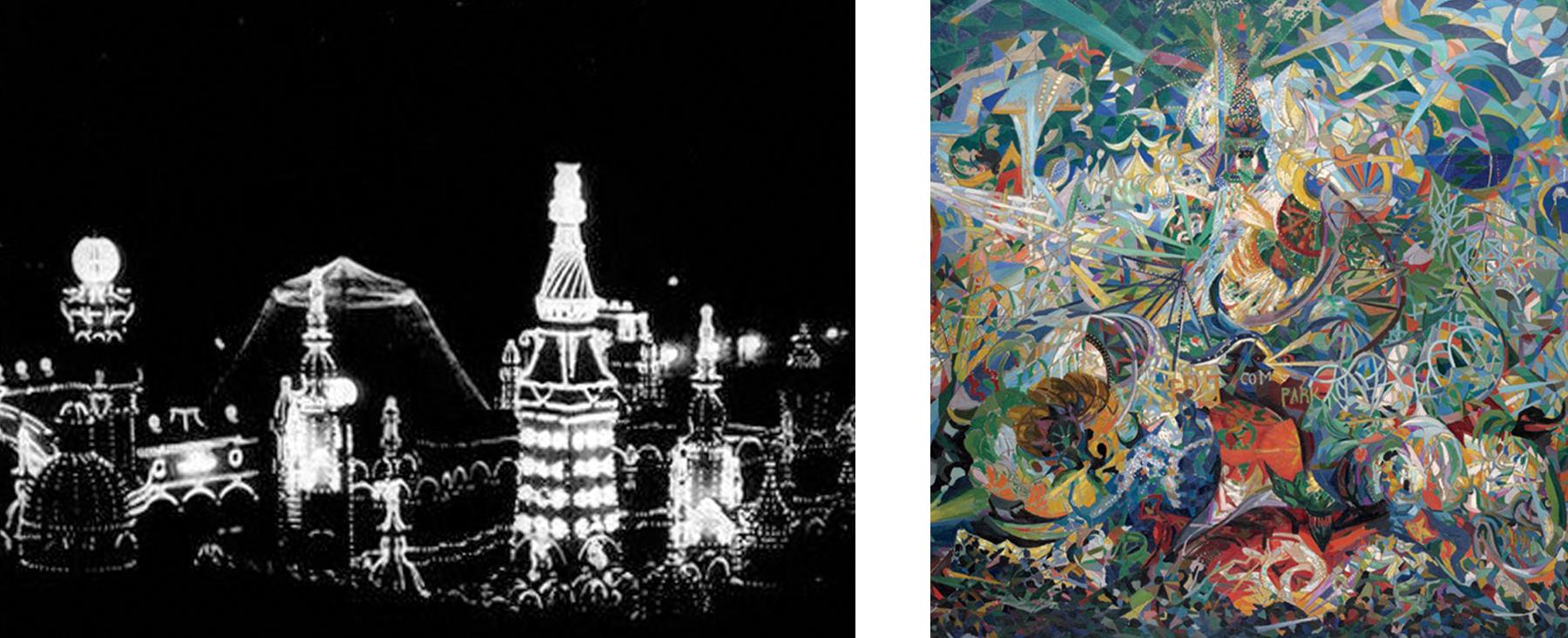 Coney Island in early cinema and modern art (1895-1914)
