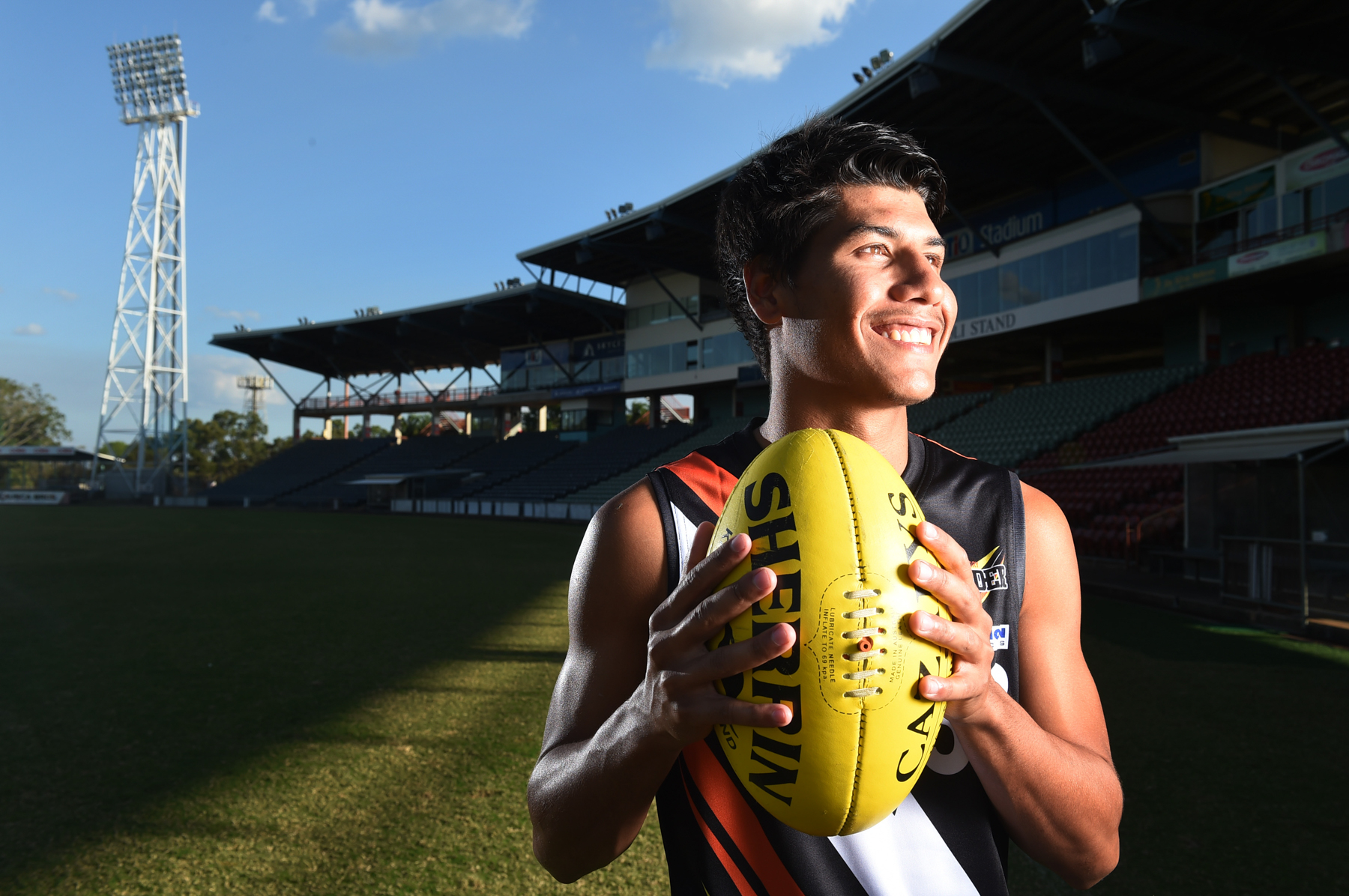 CHP_Export_118556686_NT Thunder defender Ben Rioli will play his 50th NEAFL game on Saturday night.jpg