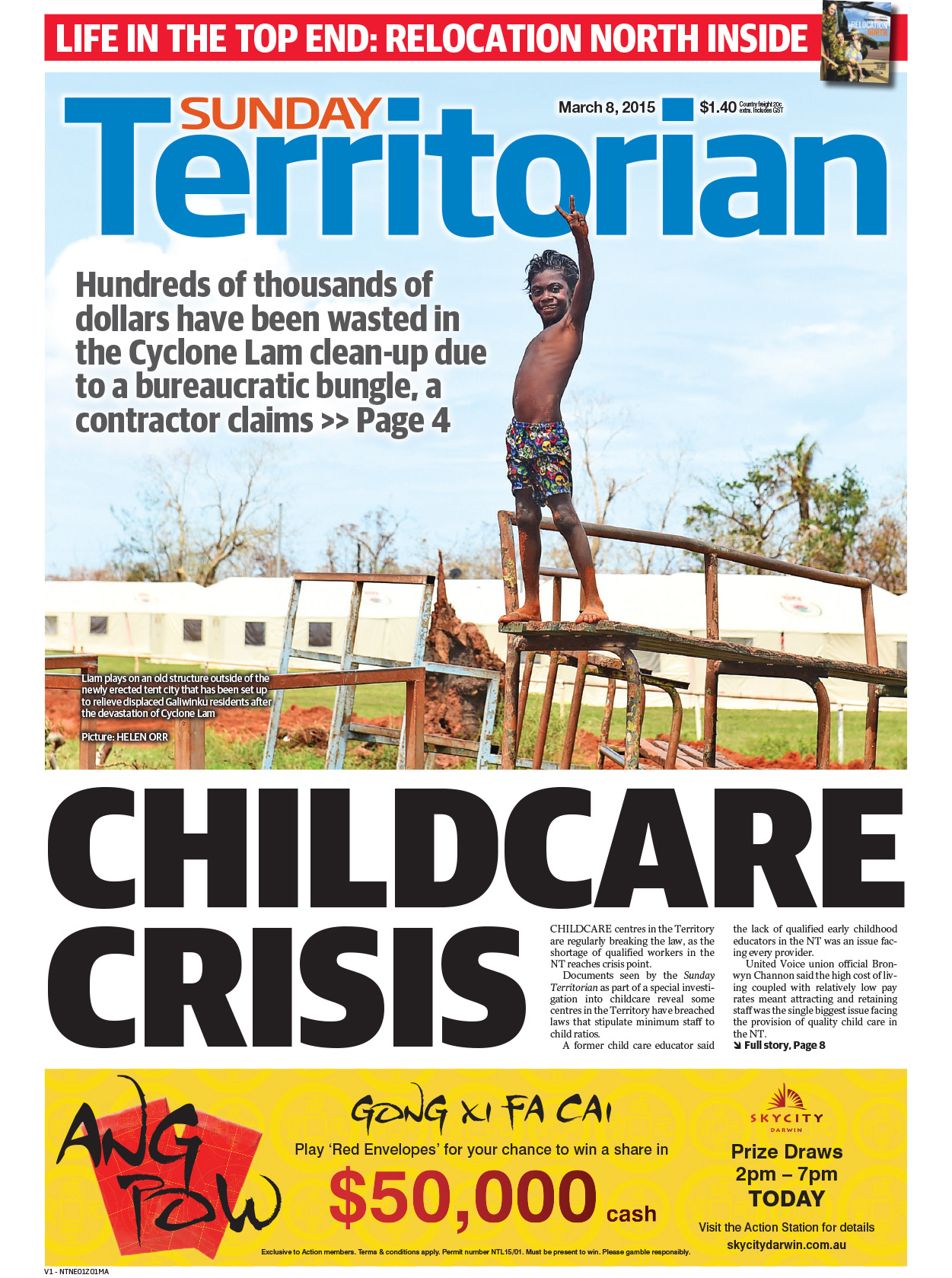 Northern Territory News_08-03-2015_Main_NTNews_p1.jpg