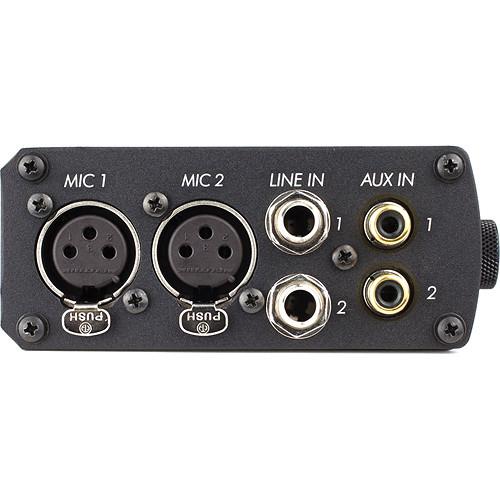 SoundDevices USBPre 2 Side