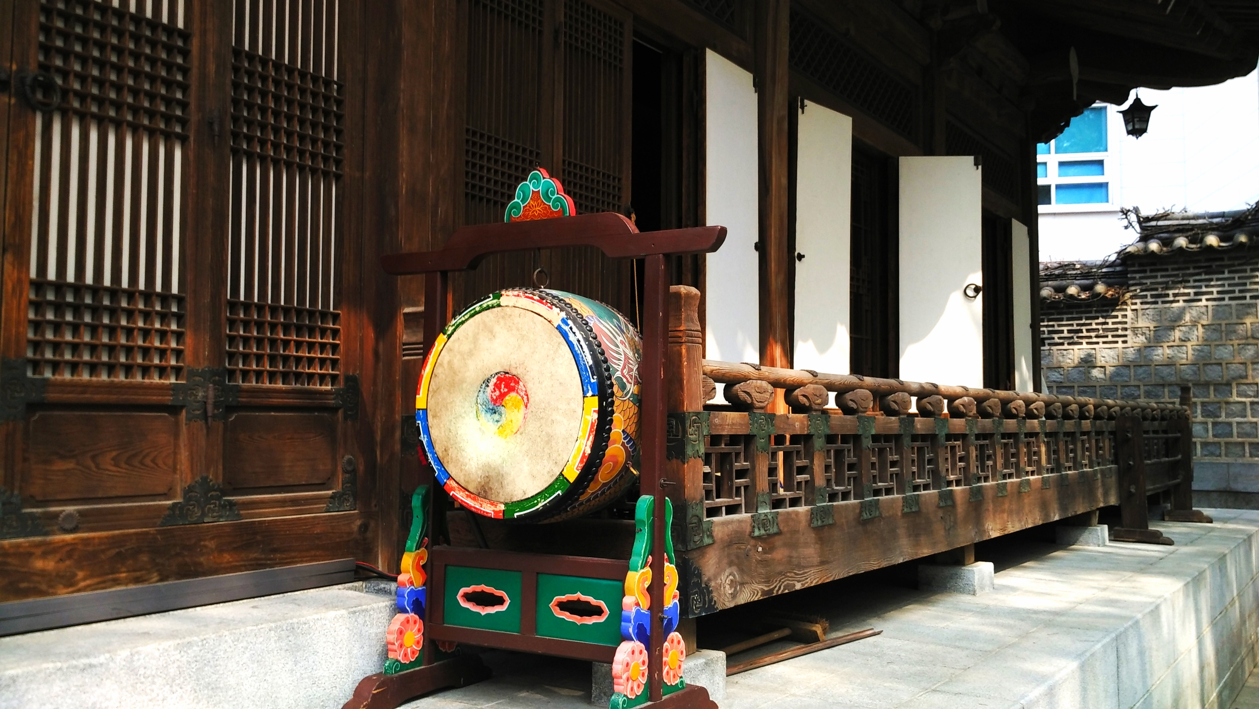 Korean drum, Korea House