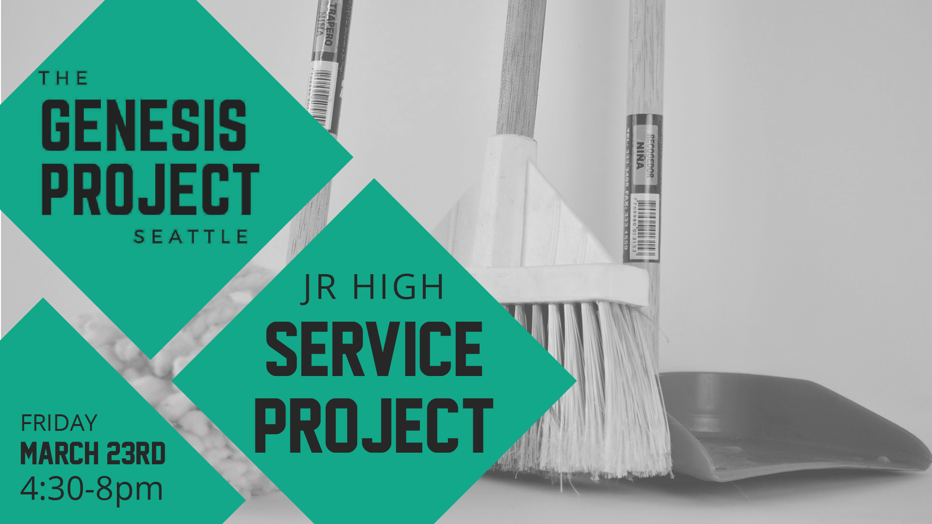 Jr High - Service Project at the Genesis Project