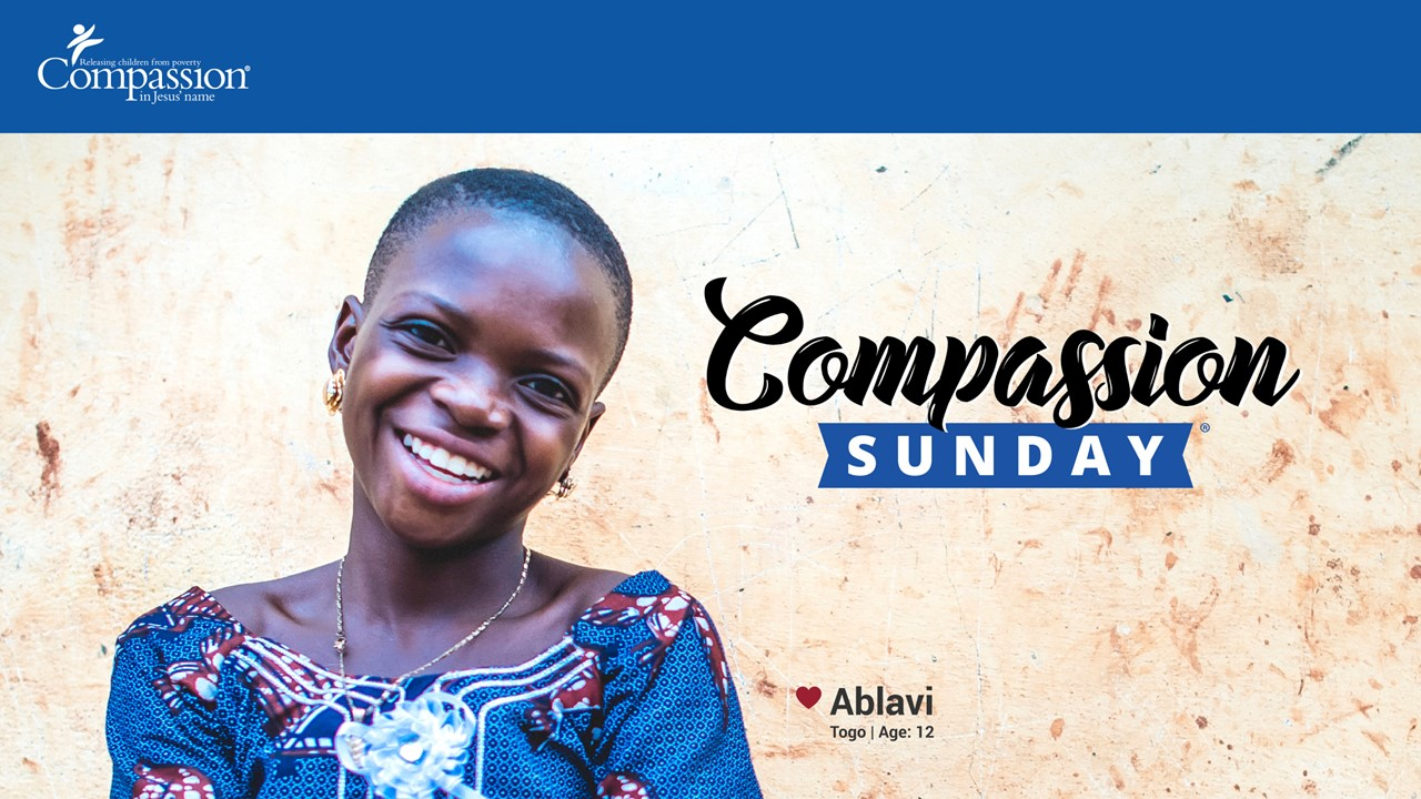 Compassion Sunday - April 8th at CCE