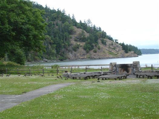 Tent Area & Amphitheater