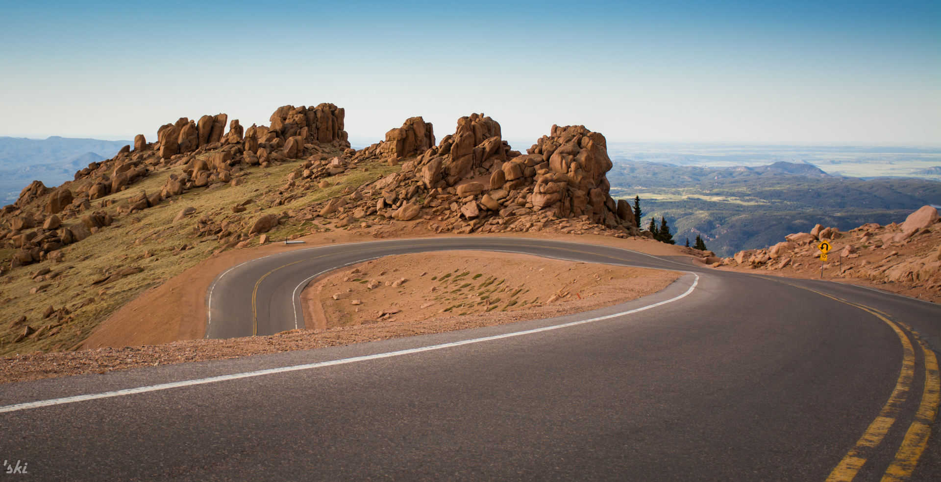 Pike's Peak Hairpin