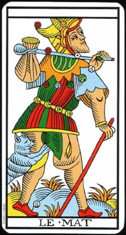 Le Mat / The Fool (Tarot de Marseille)