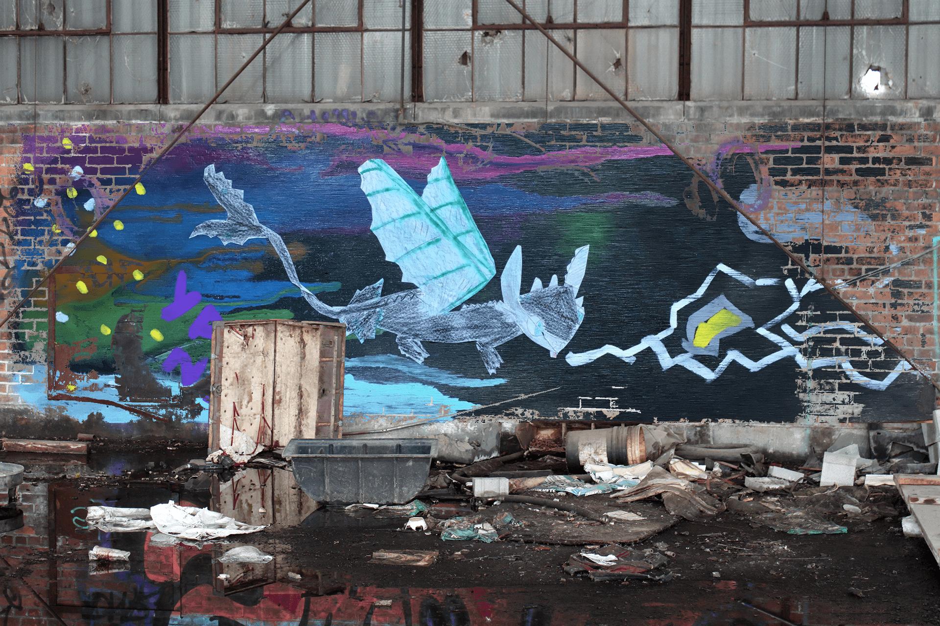 Location: https://www.snakeoilmagazine.com/swan-graffiti-piece/