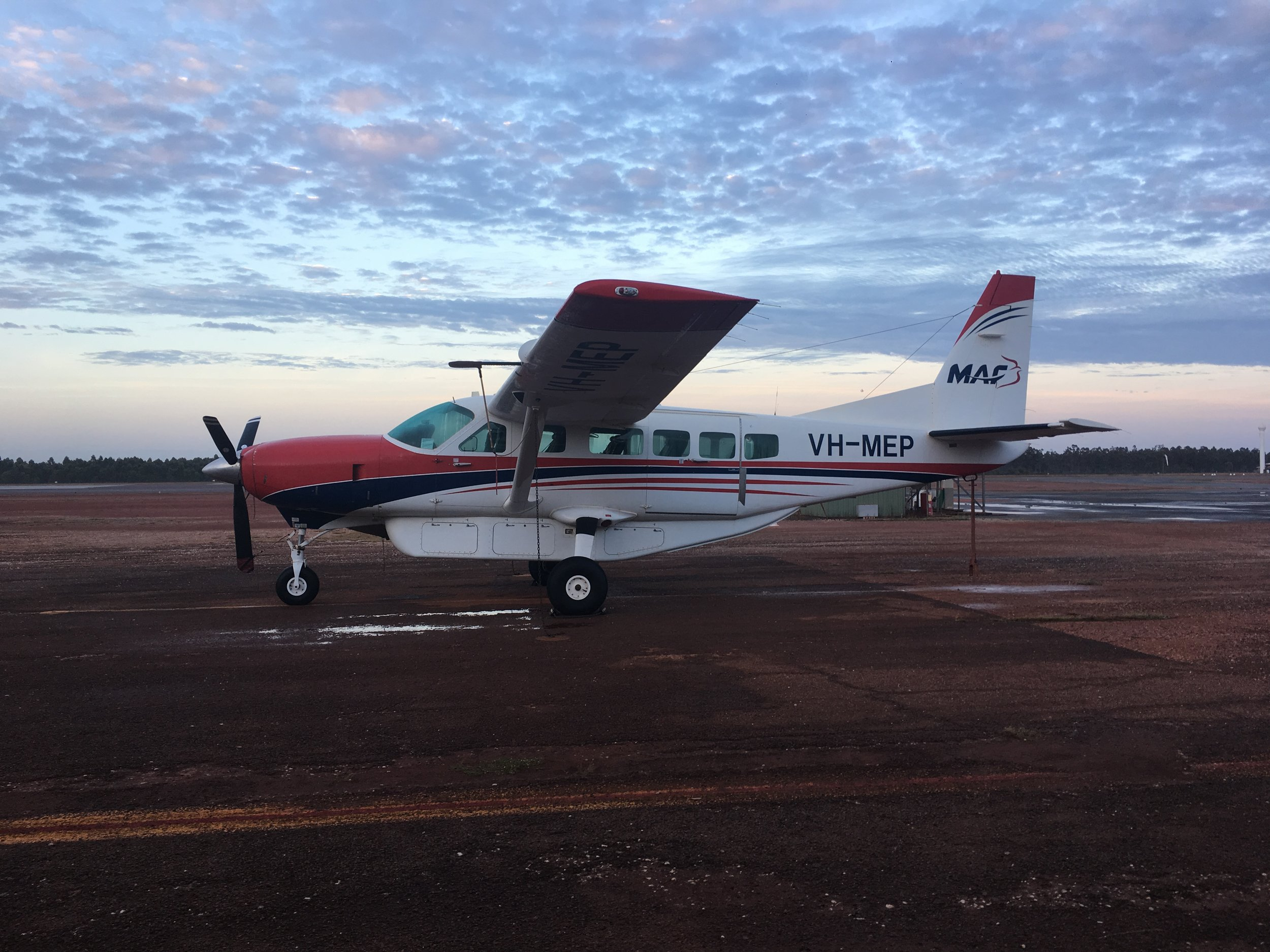 MAF RPT Flight to Gapuwiyak (Lake Evella)