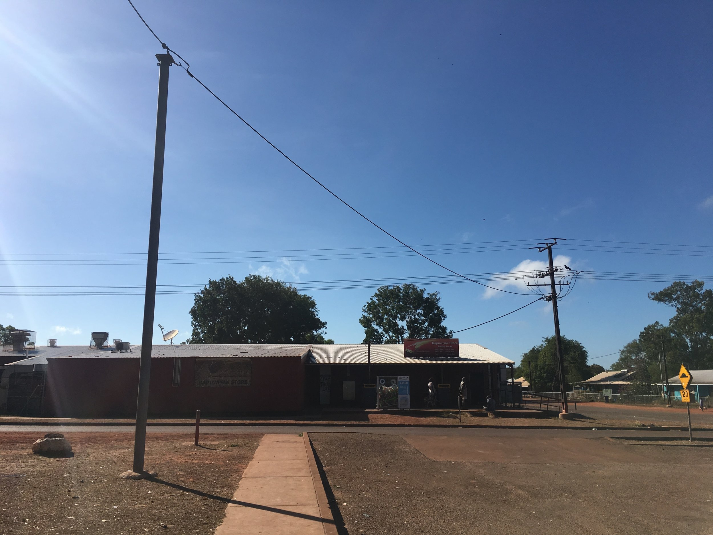 The Store, Gapuwiyak, Arnhem Land, NT. July 2018