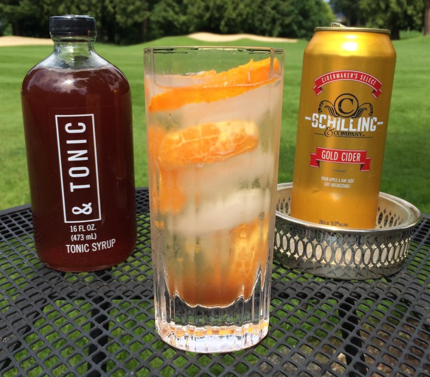 & TONIC artisanal tonic syrup creates craft cocktails