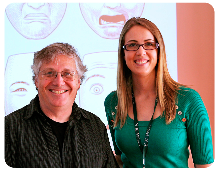 The amazing Scott McCloud and me, Kendra Perkins