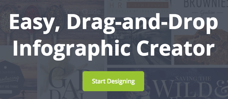 I love infographics, but was never able to actually make one myself without help from Canva.