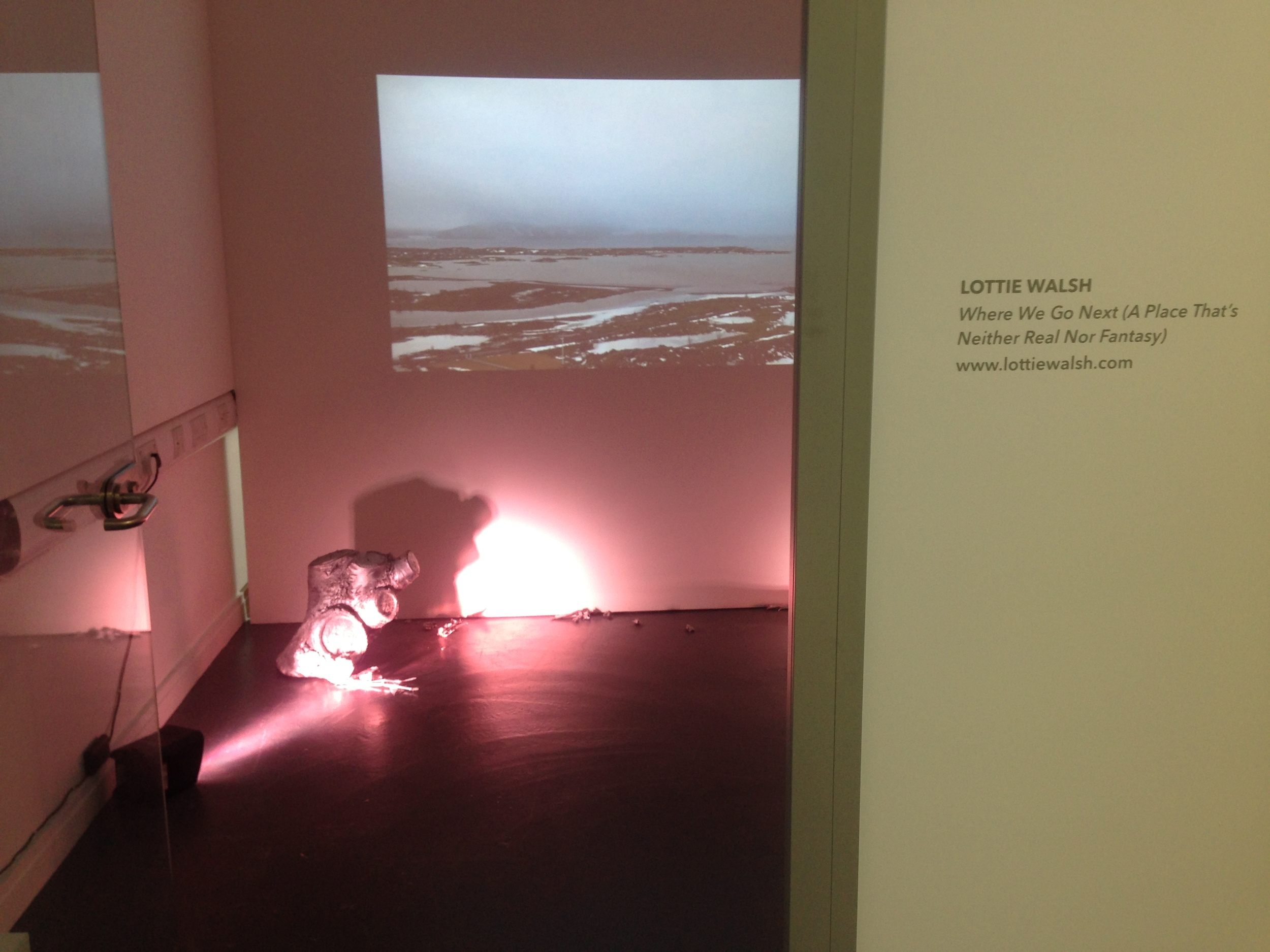 Installation image @  See:Saw,  York St. John University
