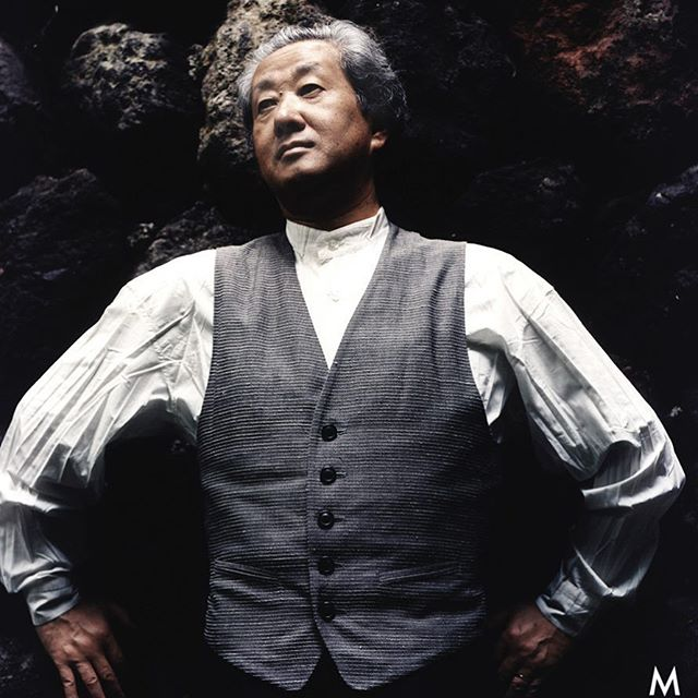 "The Japanese Architect Arata Isozaki wins the Pritzker Prize, the ""Nobel Prize"" for architecture, for 2019. I could photograph him at his home in Karuizawa in 1997. This was my only journey to Japan so far. It left me impressed deeply. #arataisozaki #pritzkerprize #japan #nippon #architecture #portraitphotography"
