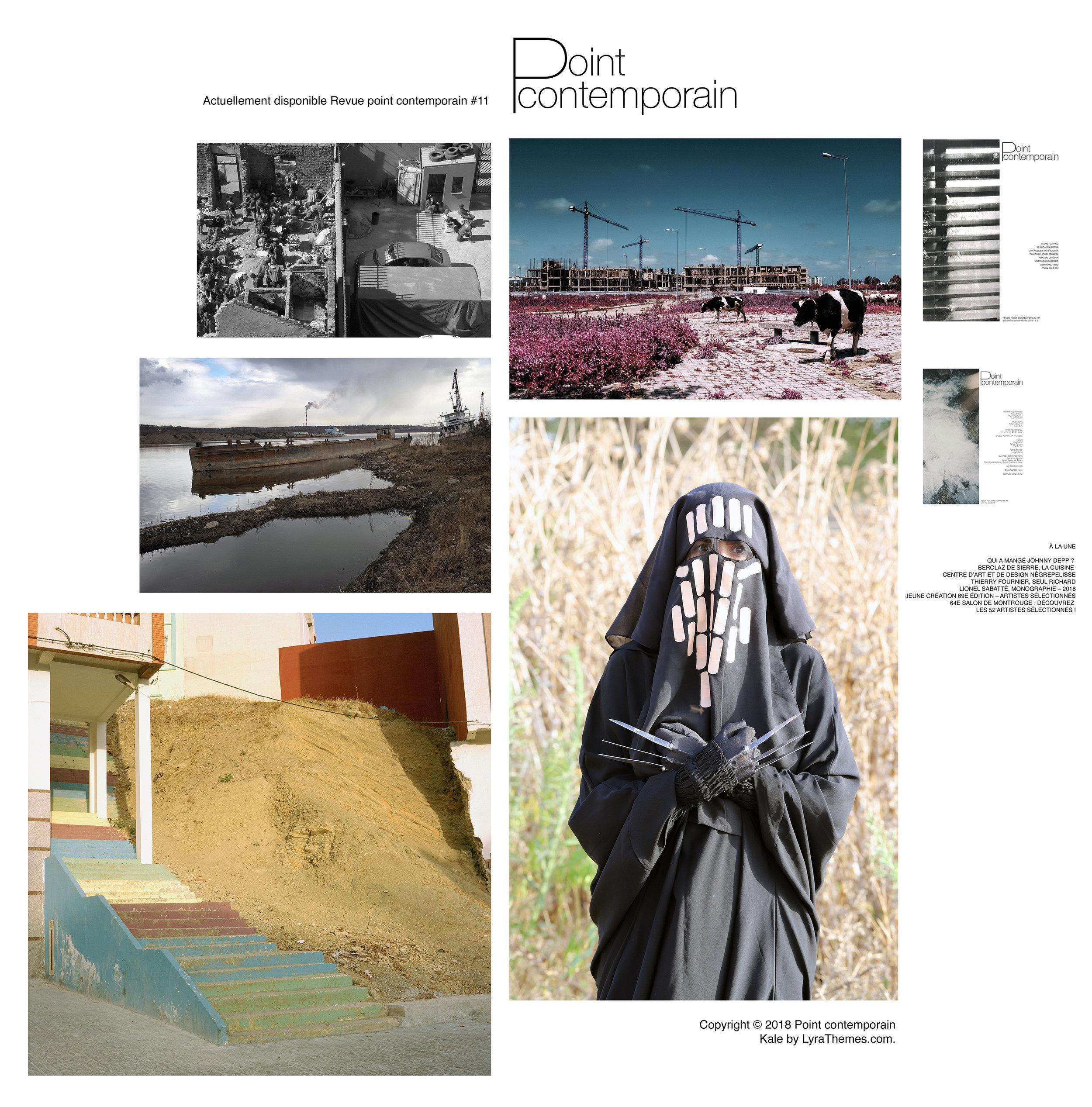 """"""" Par-delà les territoires """" 11ème édition, des Rencontres Internationales de la Photo de Fès, Maroc. Du 30 novembre au 20 décembre, 2018. Commissariat d'exposition Mohamed Thara."""