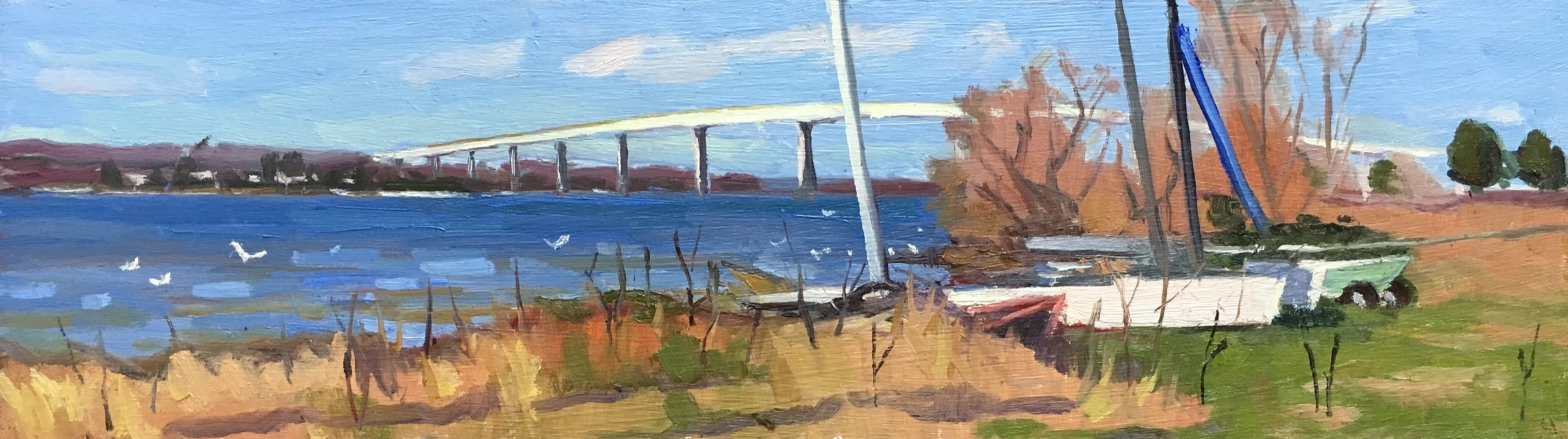Boats by the Patuxent