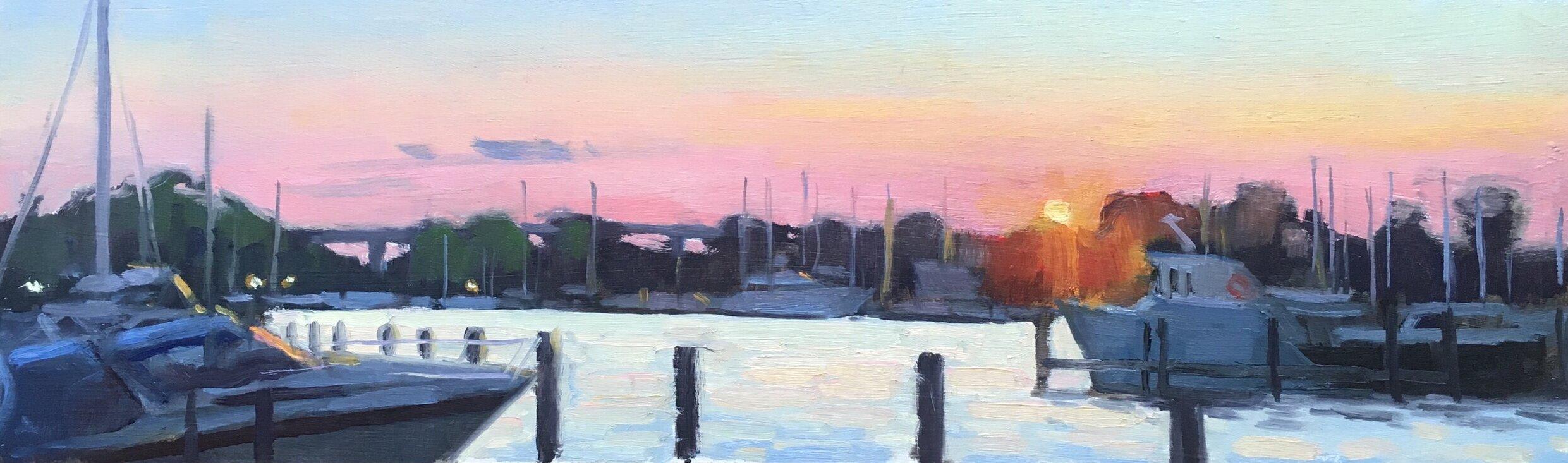L Dock Sunset 2