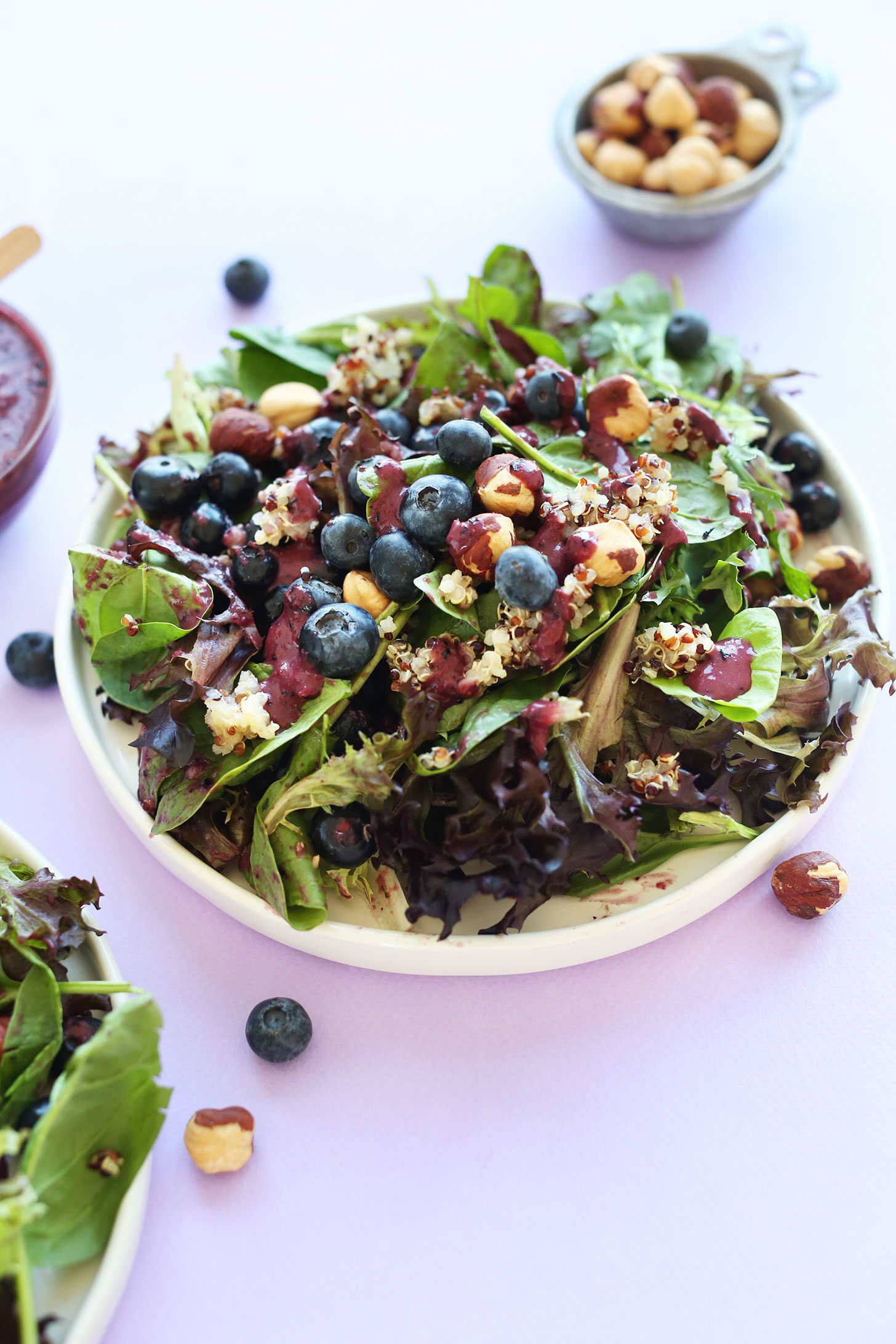 Salade quinoa myrtille