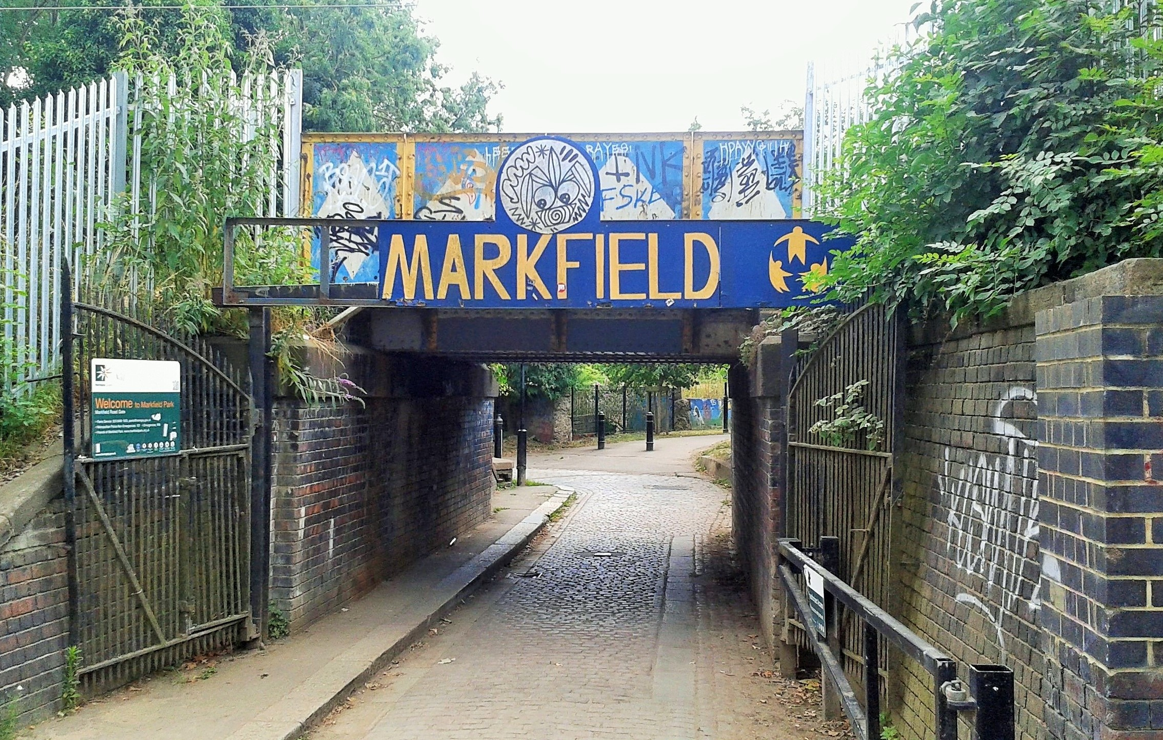 Markfield Park, Tottenham, North London