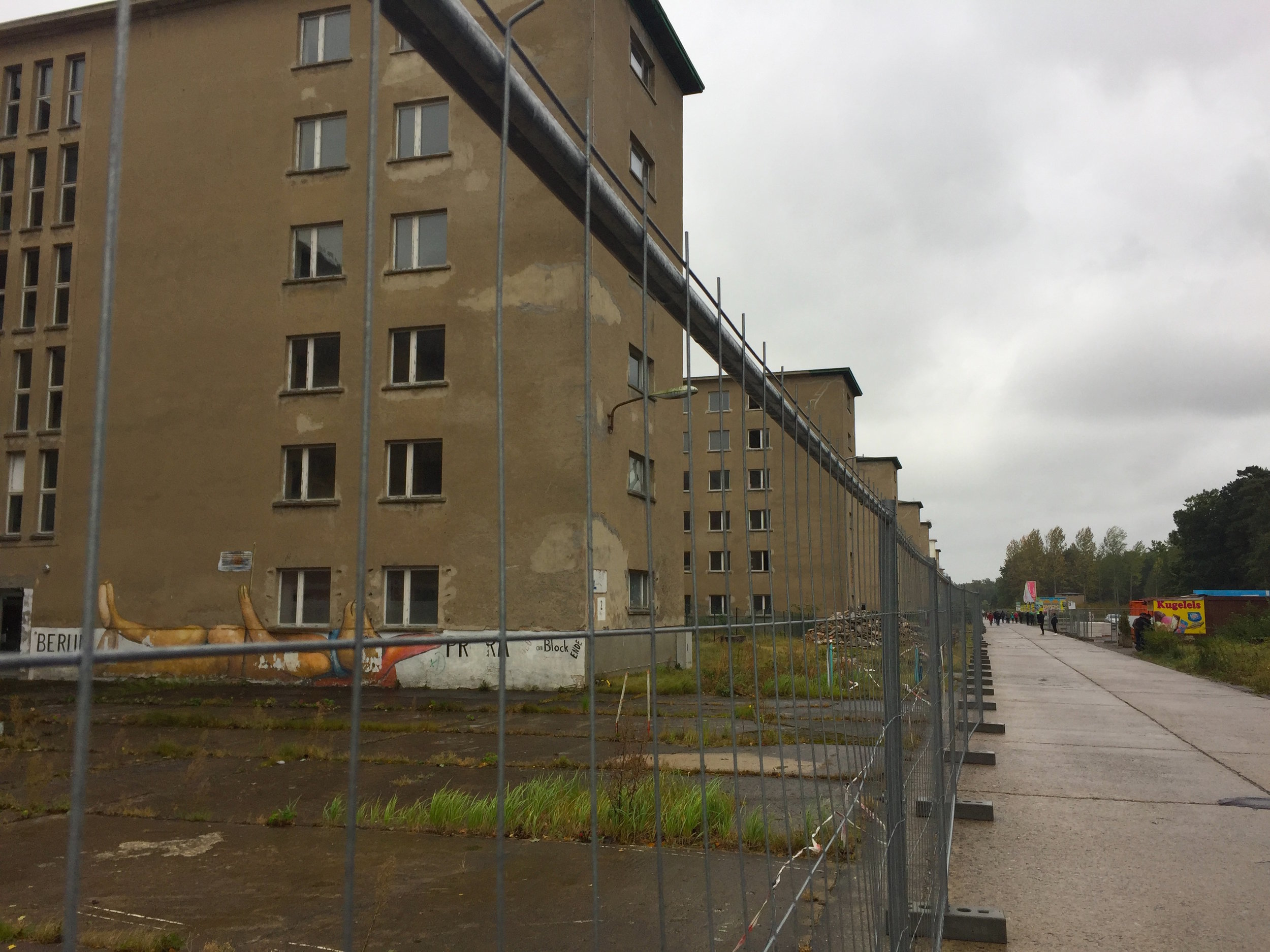 The old National Socialist holiday camp at Prora