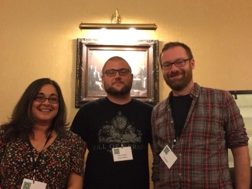 (L-R) Priya Sharma, D.A. Northwood, Tim Major