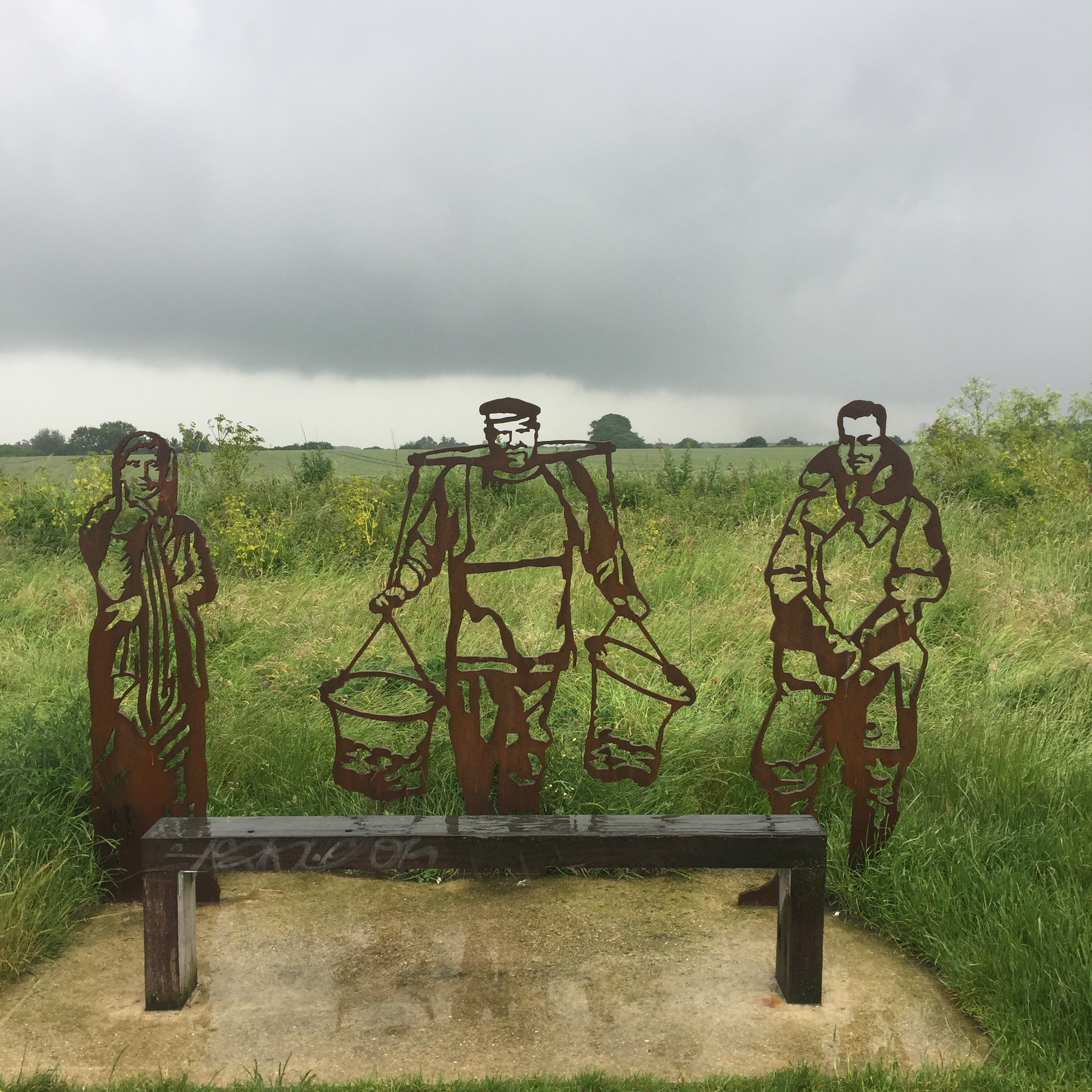 The Portrait Bench