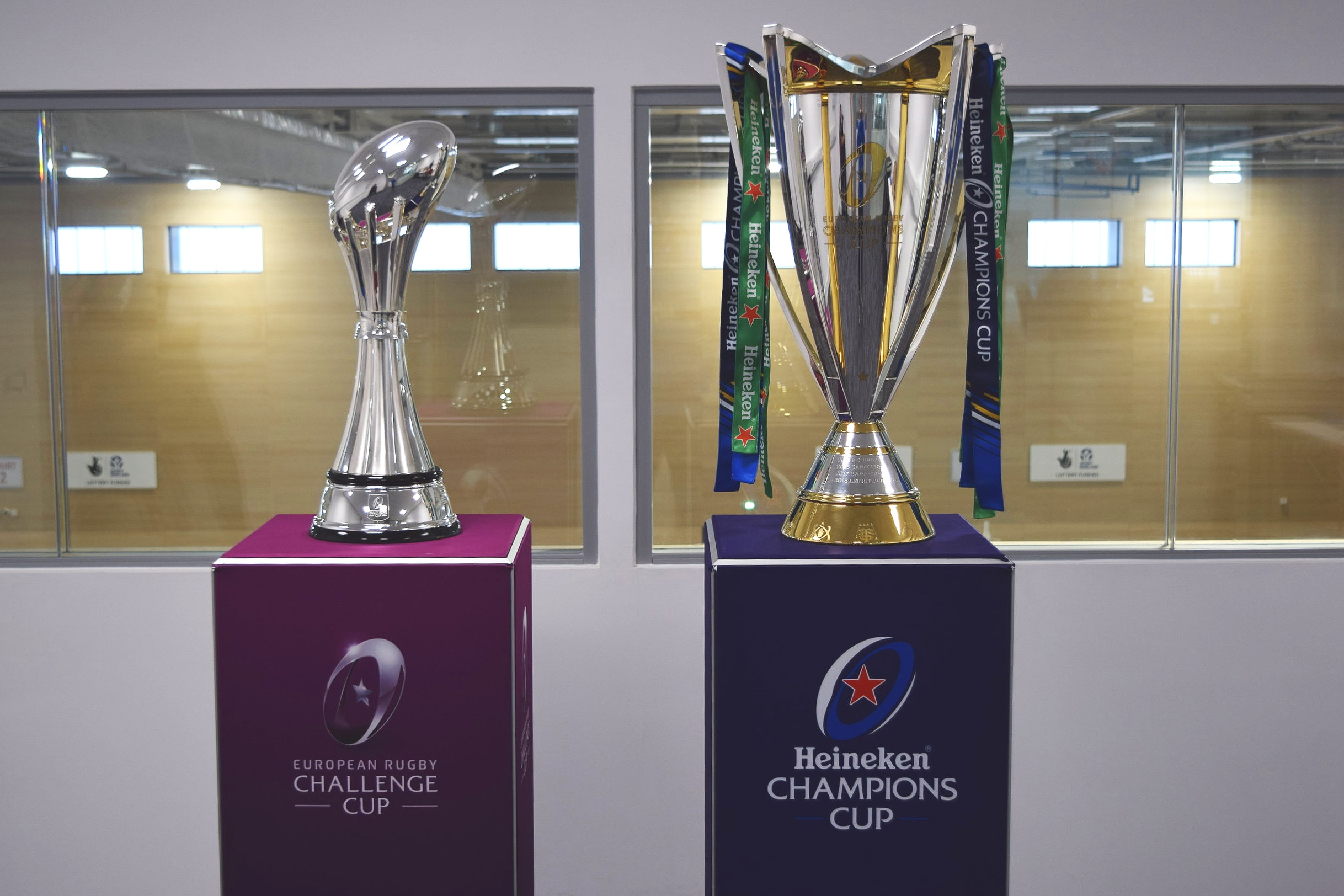 European Rugby Challenge Cup & Heineken Champions Cup. Beacon of Light, Sunderland, 28 March 2019