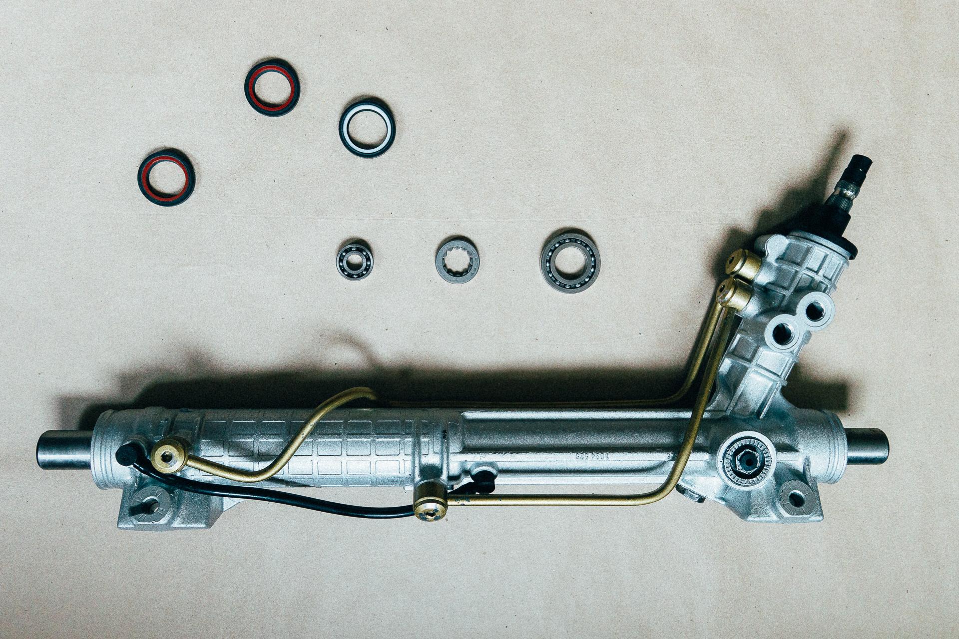 Отреставрированный рулевой механизм BMW в СЦ STEERING.BY