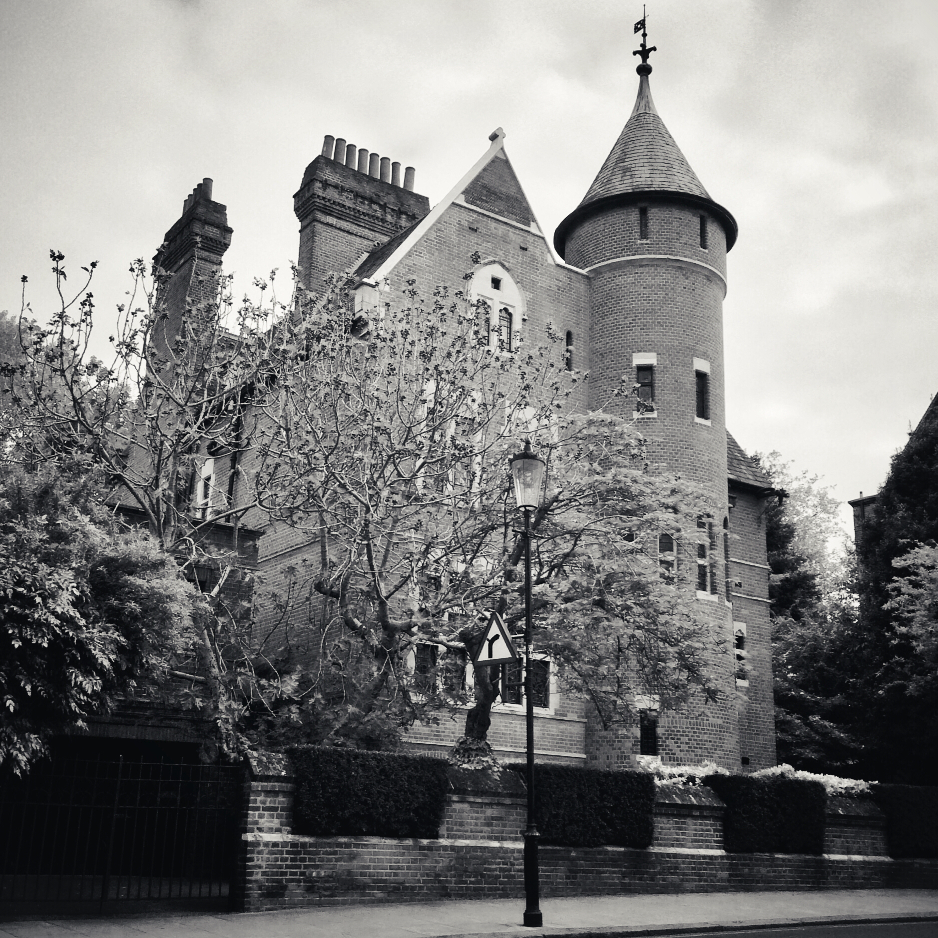 Jimmy Page's London home - The Tower House