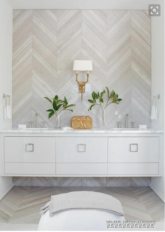 Bathroom by Melanie Turner Interiors                    melanieturnerinterior.com