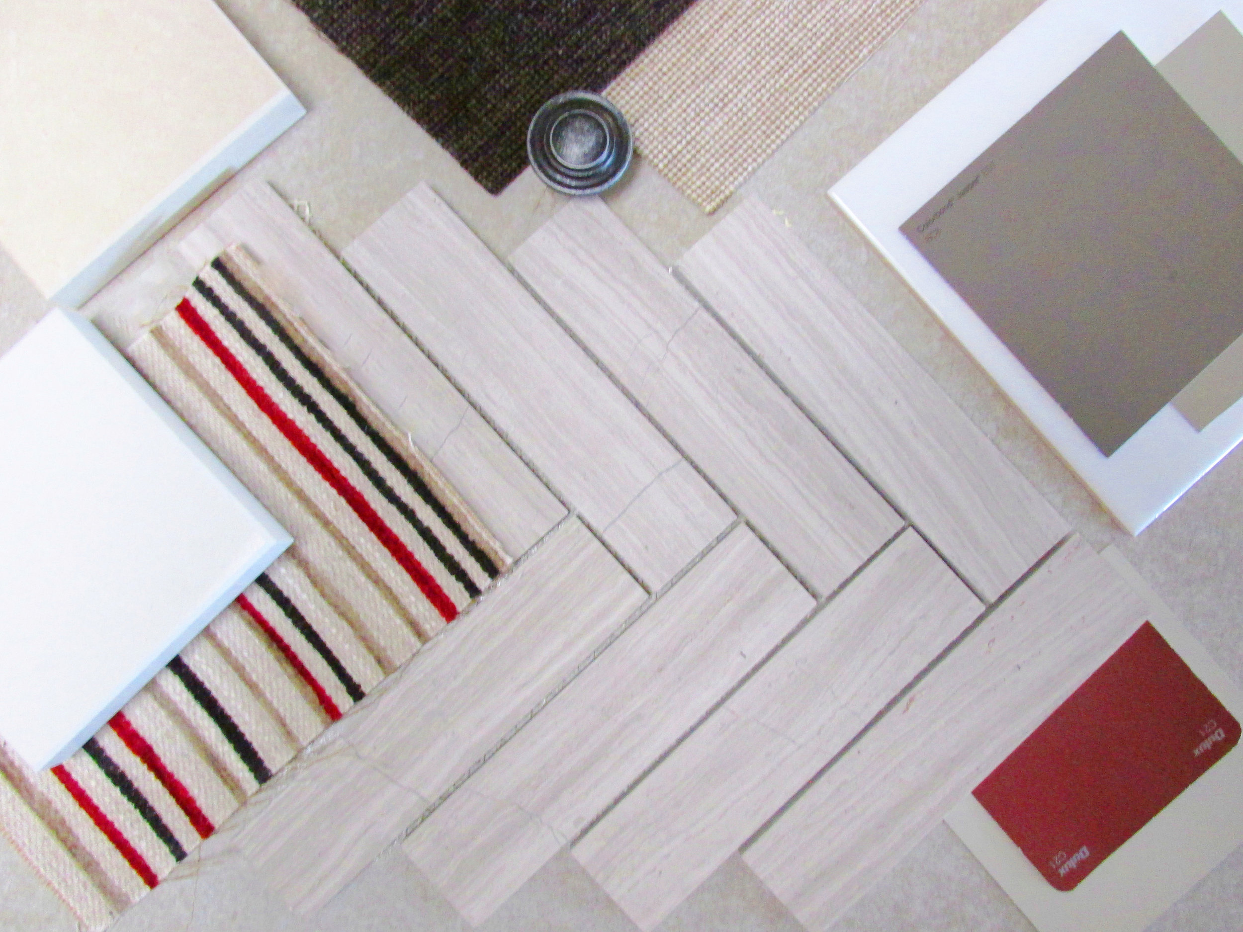 My Materials Board in Progress                              adelasivewright.com