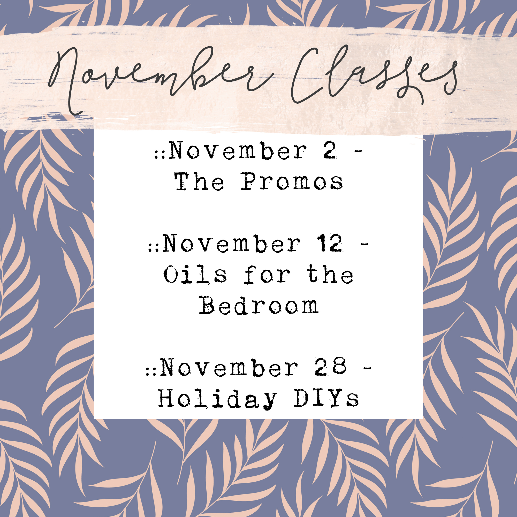 COMING UP! - We have several exciting classes coming up for you this month! Make sure that you're a member of our Facebook group to get the invites for each event!Not a member of our Ivy and Twine Facebook Group?You can access that right here:https://www.facebook.com/groups/1105943996090480/