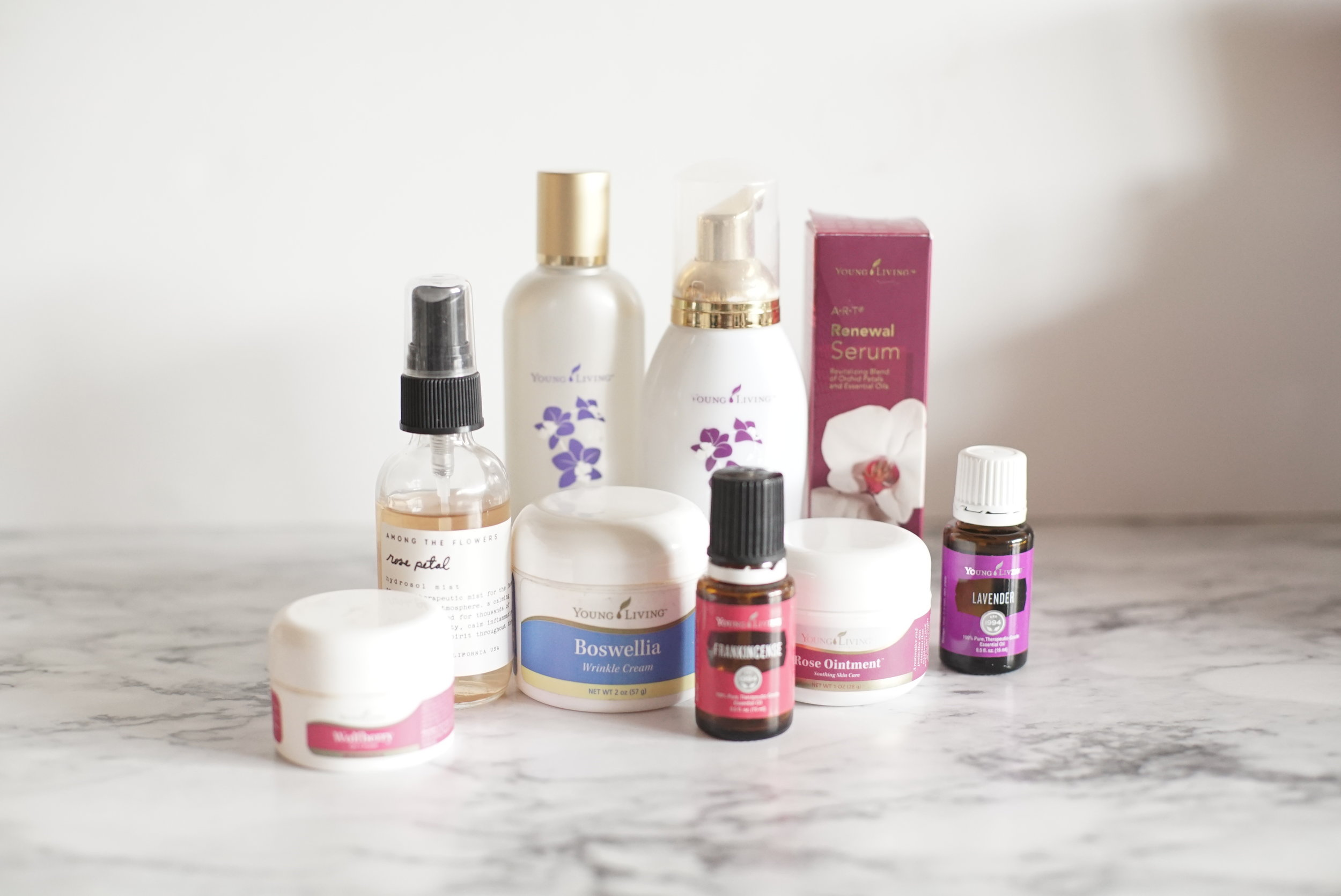 beauty - Young Living carries all of my favorite things: lotion, shampoo, conditioner, face wash, beauty masques, toner, moisturizer - even toothpaste, floss, and mouthwash! And I adore them. Formulated without toxins, these are the perfect choice for me and my family.