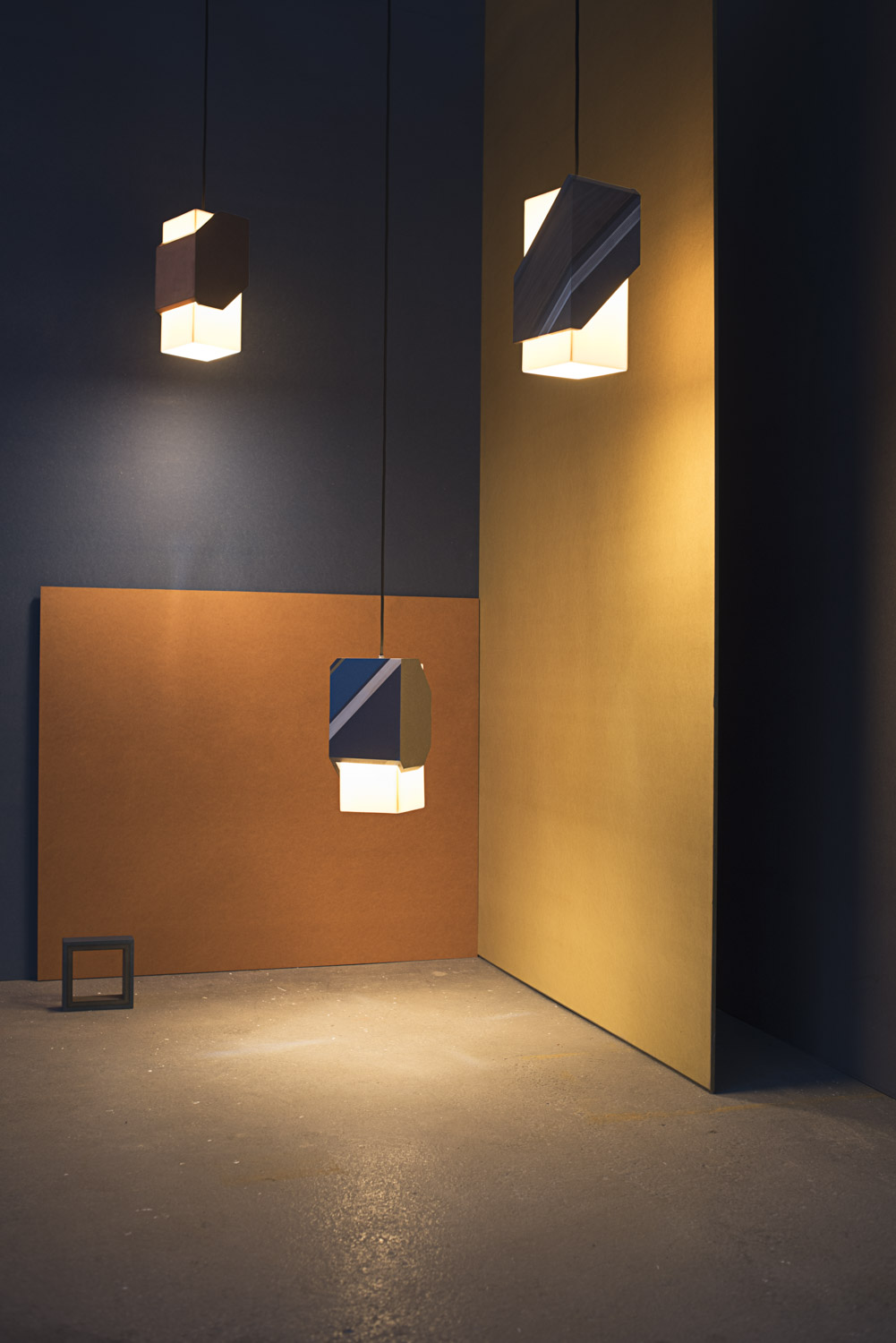 Melver three pendant lights
