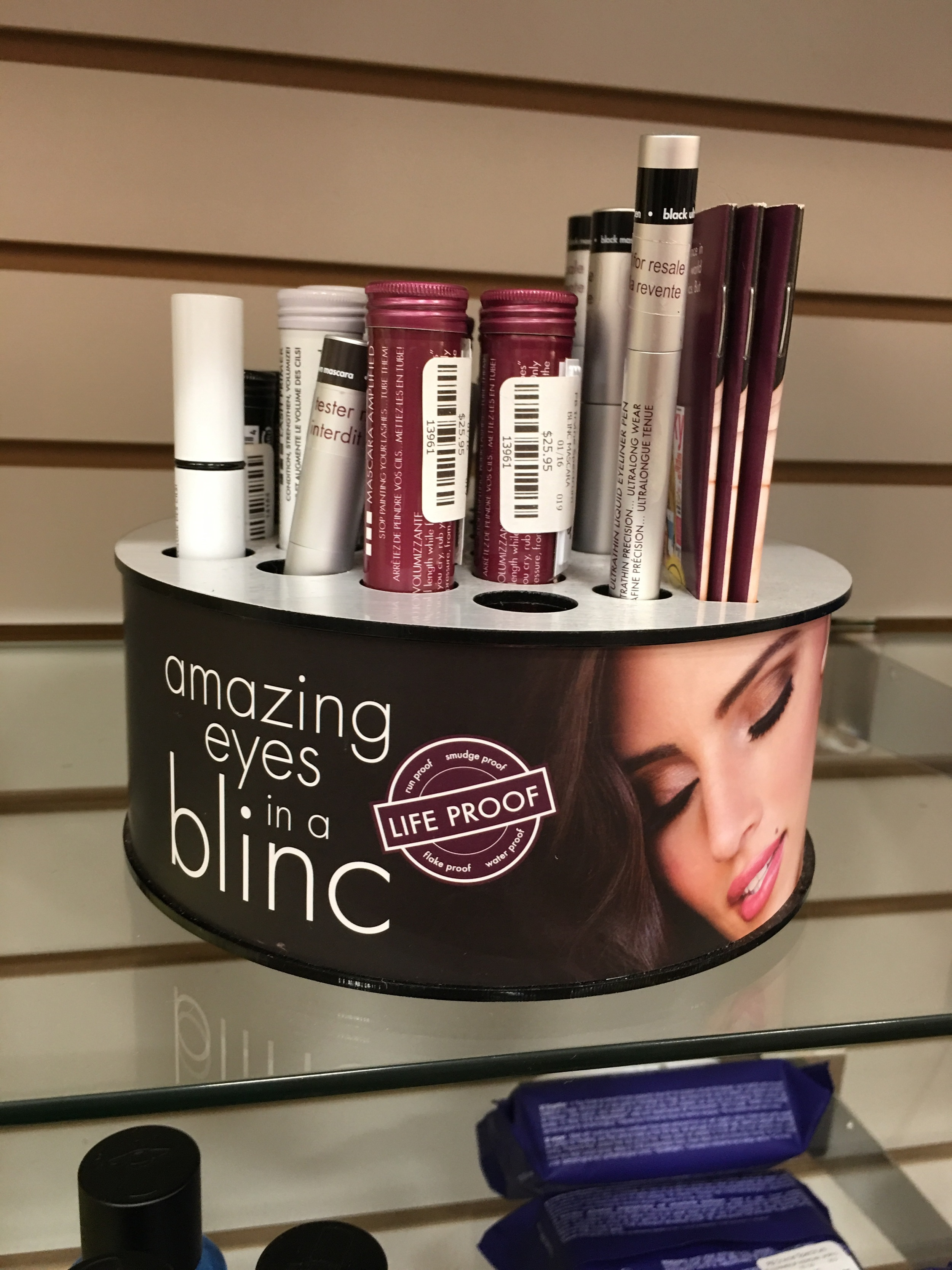 Blinc mascaras at the Planet Beauty