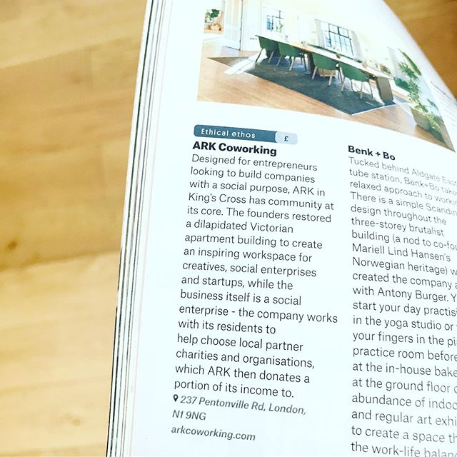 Thanks a mil @couriermedia for featuring us in the Workspace Directory! A 'guide to some of the most interesting workspaces in the world' 📰 🗞✍🏻