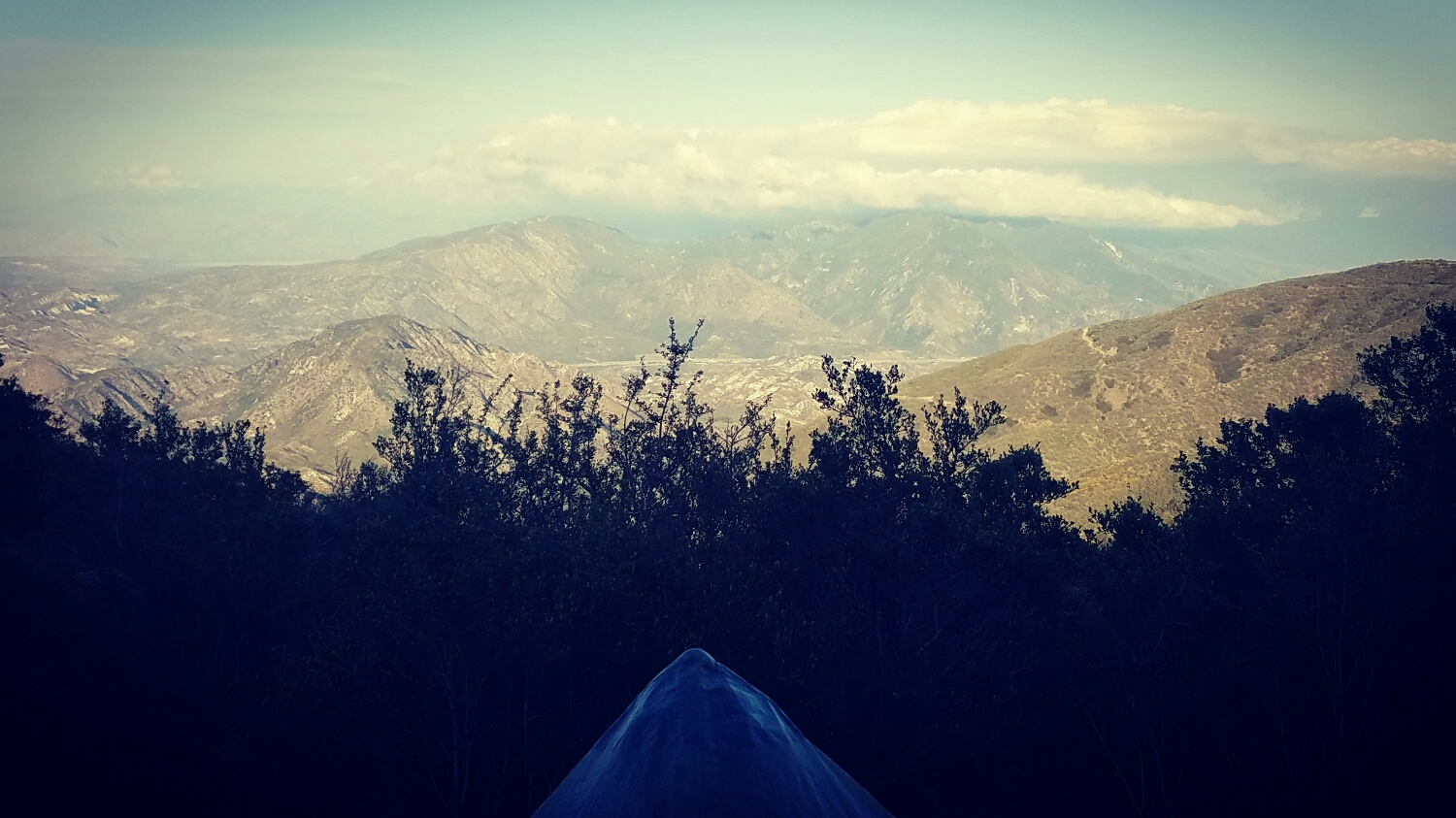 My view for the night! 12 miles outside Cajon Pass