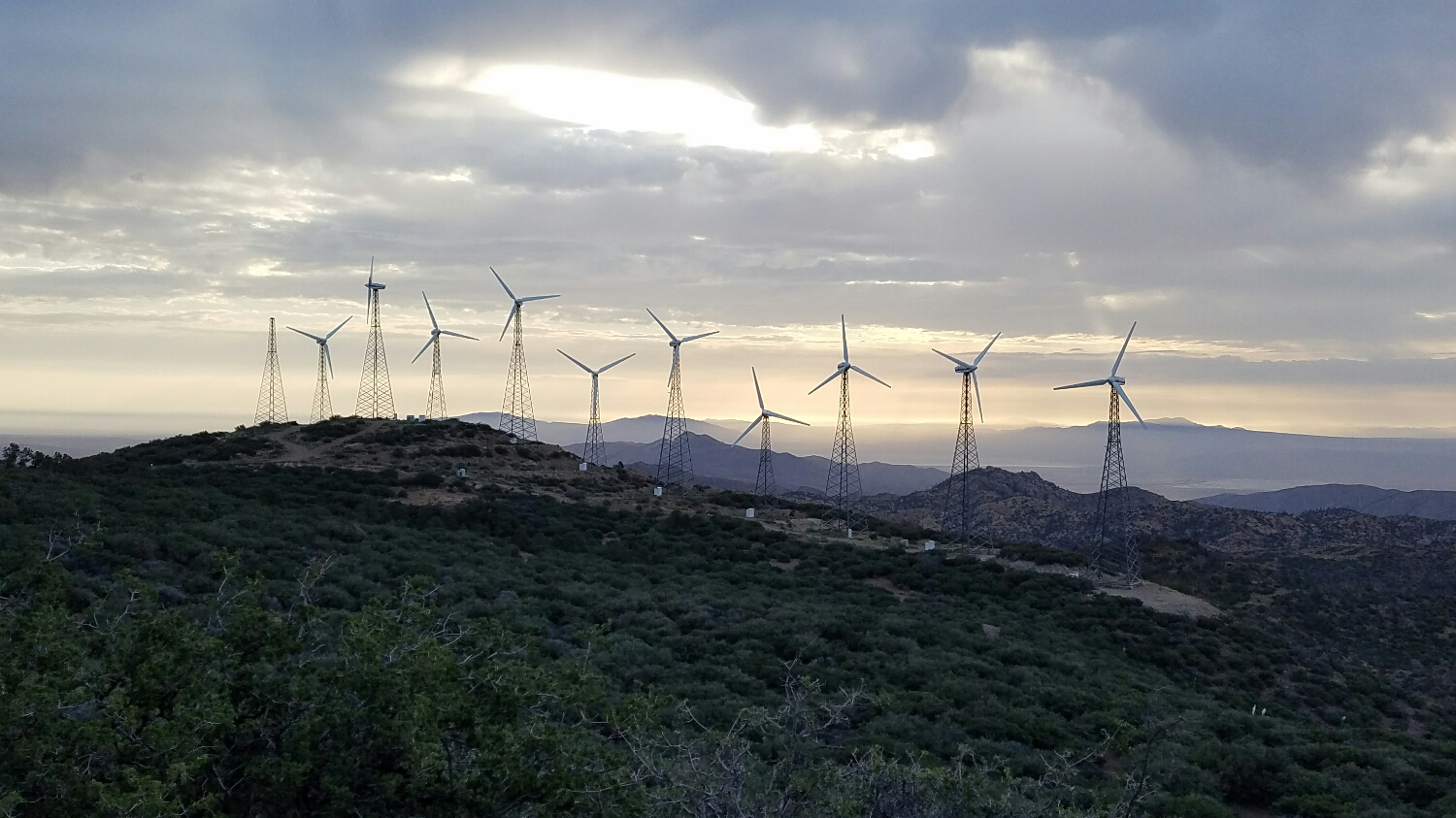 the last of the wind farms