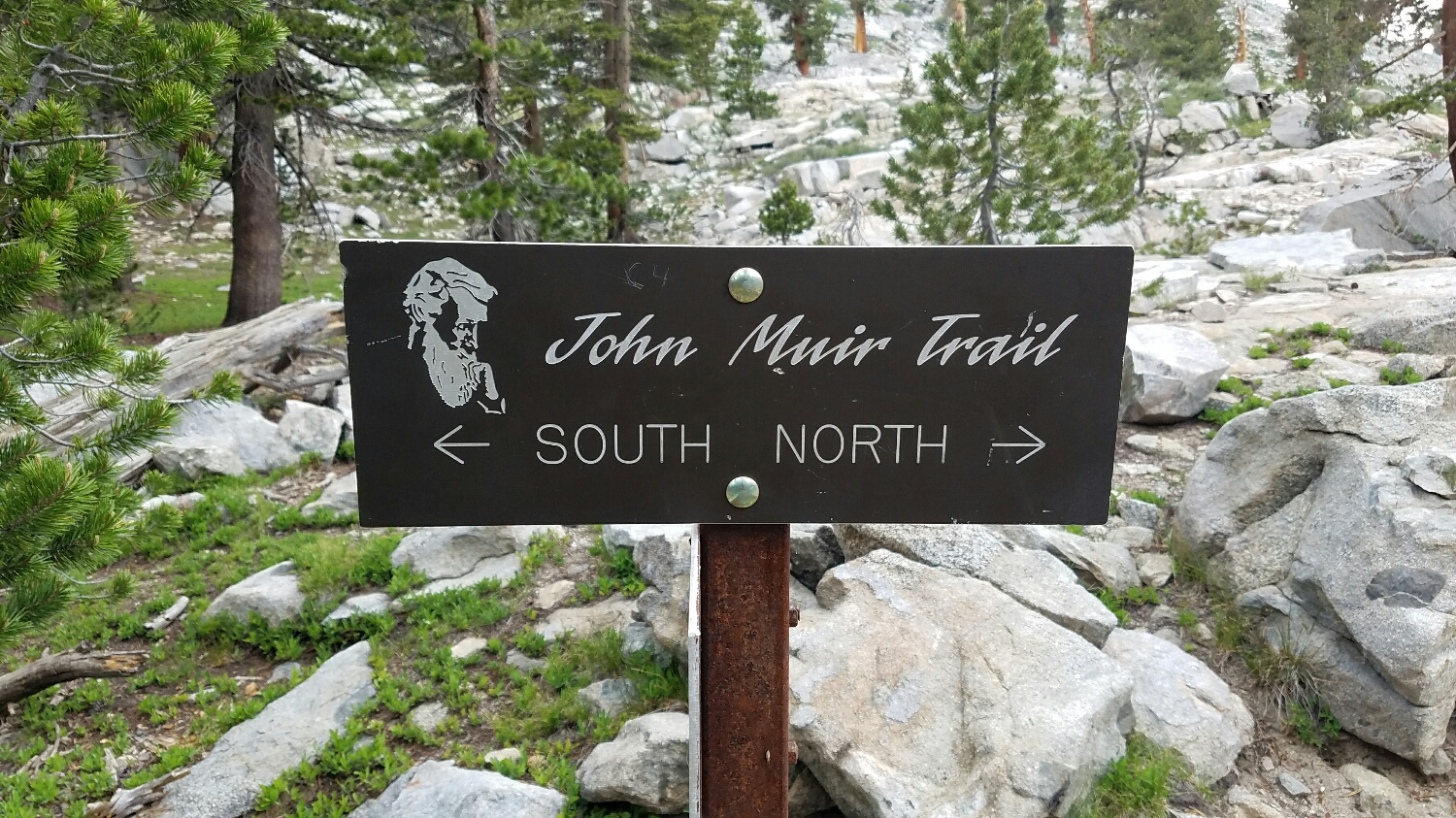 officially on the John Muir Trail!