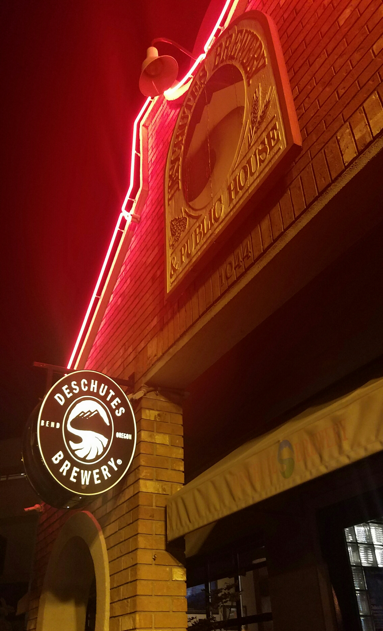 one of the most famous, Deschutes Brewery